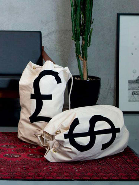 Cotton Canvas Money Bag by Page Thirty Three (£)