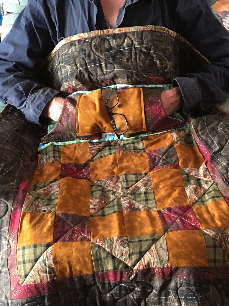 NEW  -  ARM & WHEEL CHAIR LAP QUILTS