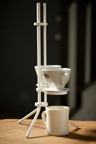 Square Form Coffee Pour Over Stand