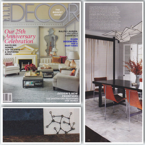 Square Form in Elle Decor