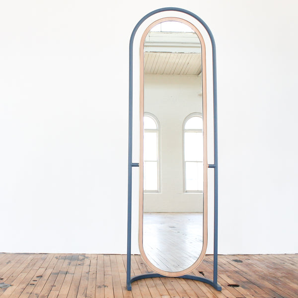 """Pill"" Floor Mirror"