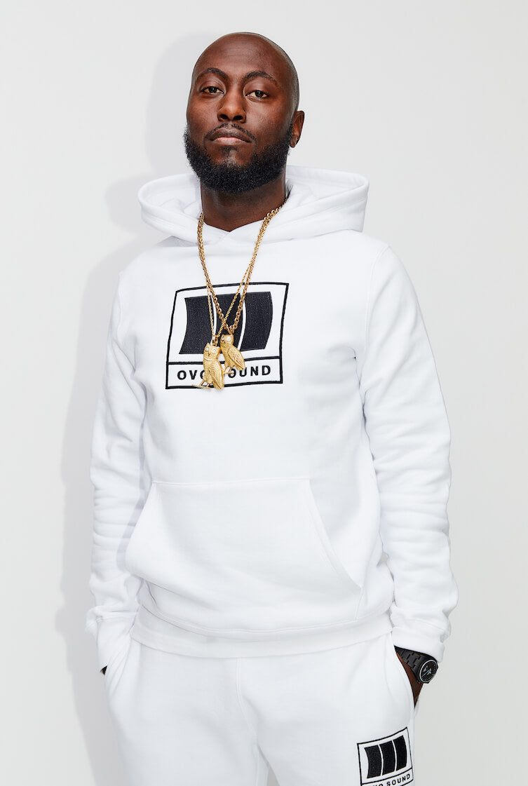 2dba1f6cd OVO TERRY CLOTH ZIP HOODIE - BLACK – October's Very Own Online US