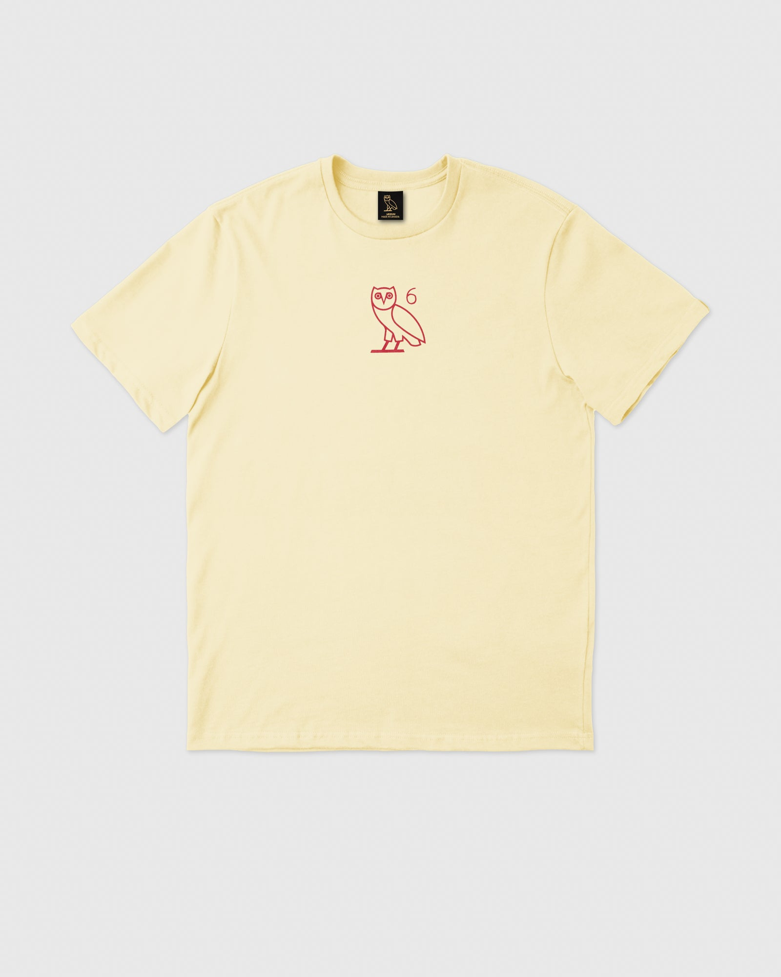 6 OWL T-SHIRT - CREAM IMAGE #1