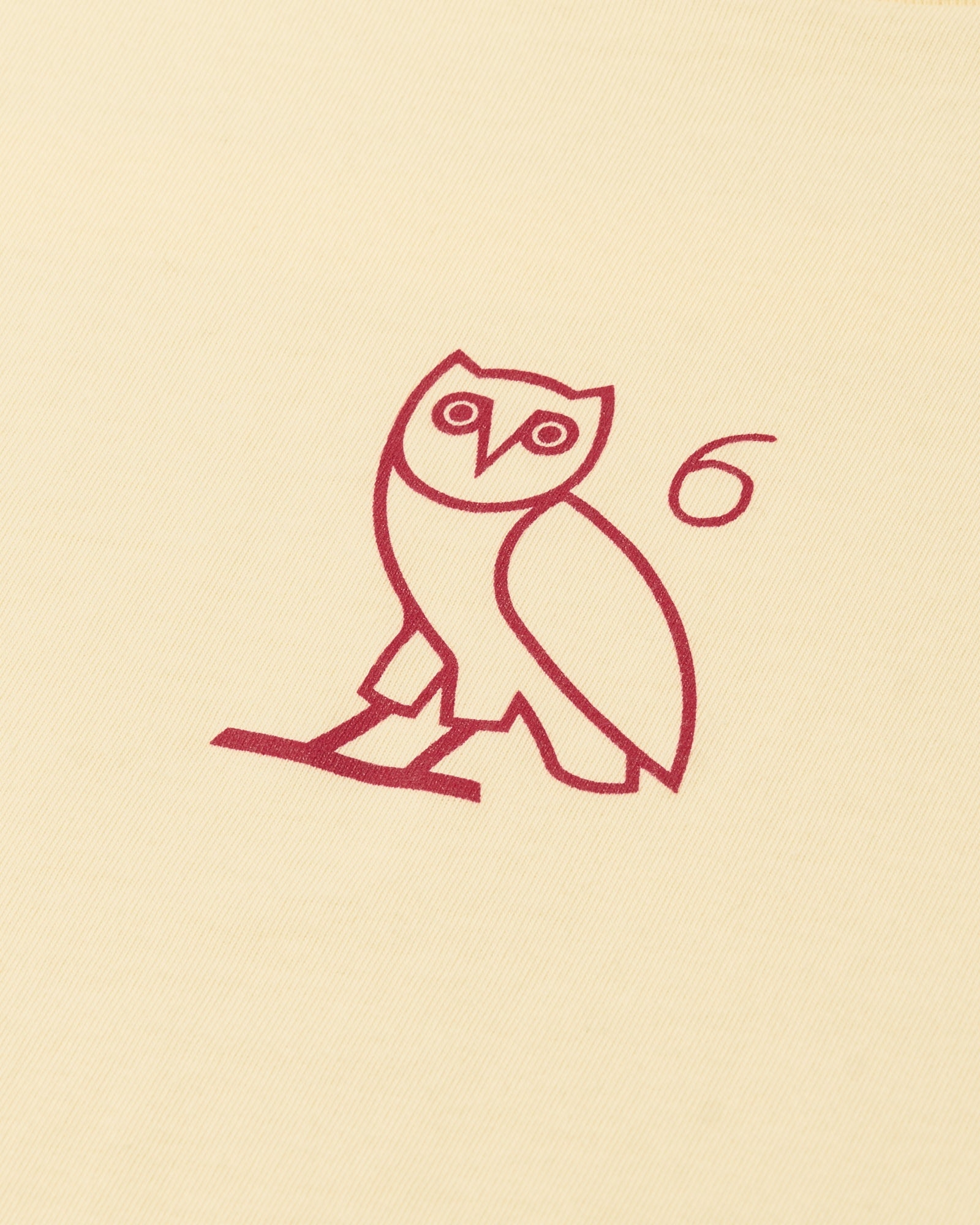 6 OWL T-SHIRT - CREAM IMAGE #2