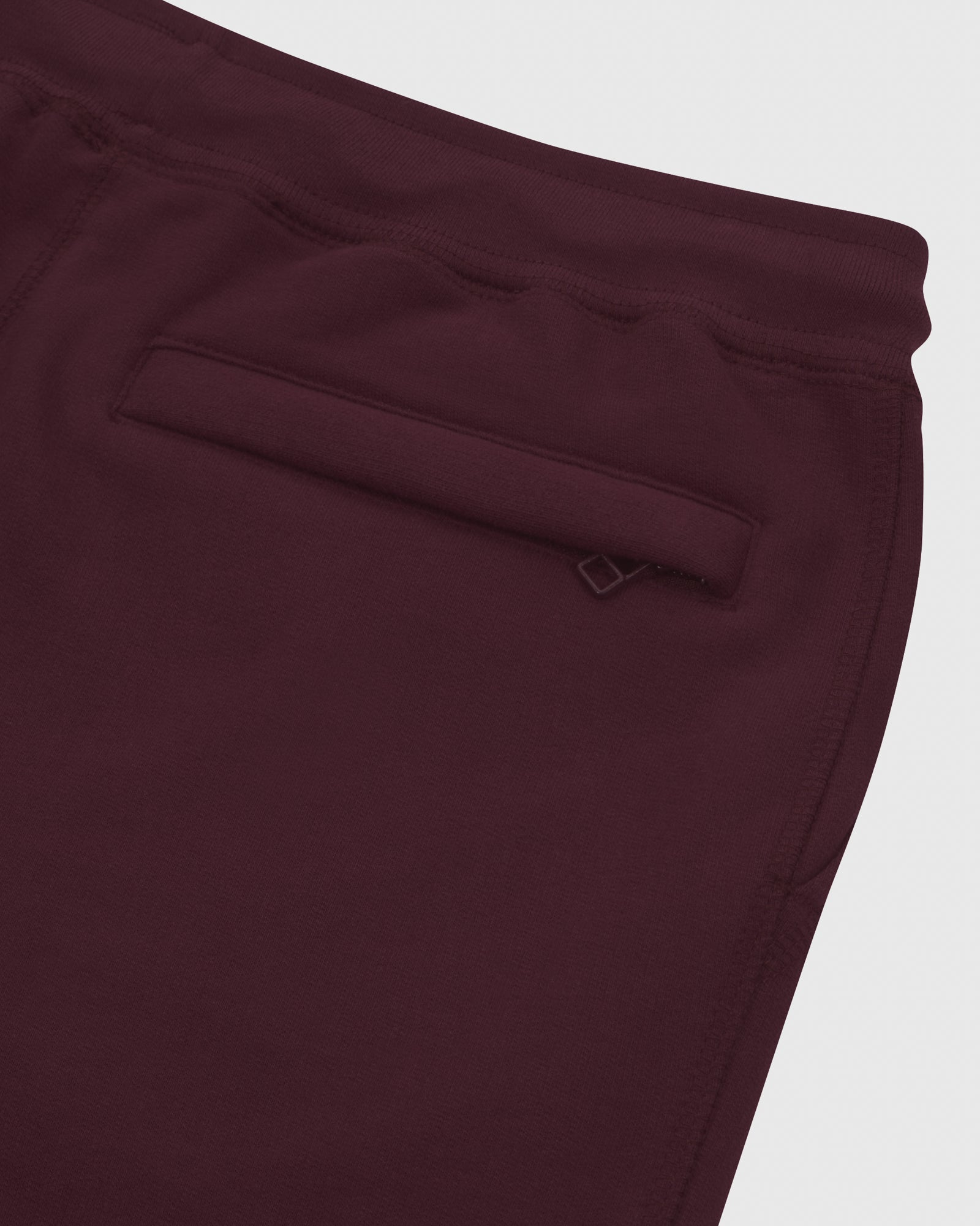 MID-WEIGHT FRENCH TERRY SWEATPANT - BURGUNDY
