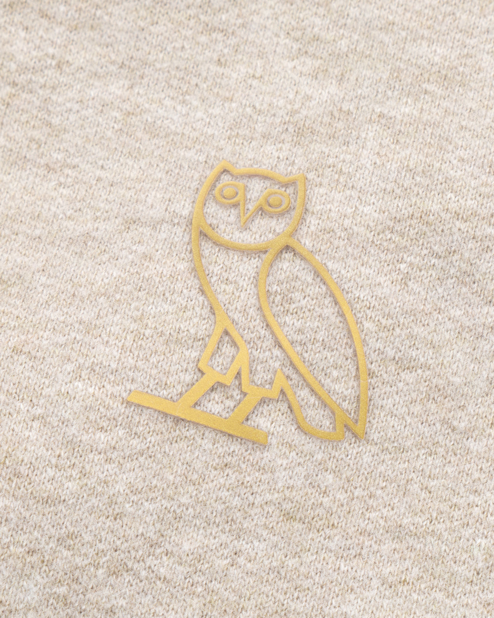 OVO FRENCH TERRY HOODIE - HEATHER OATMEAL