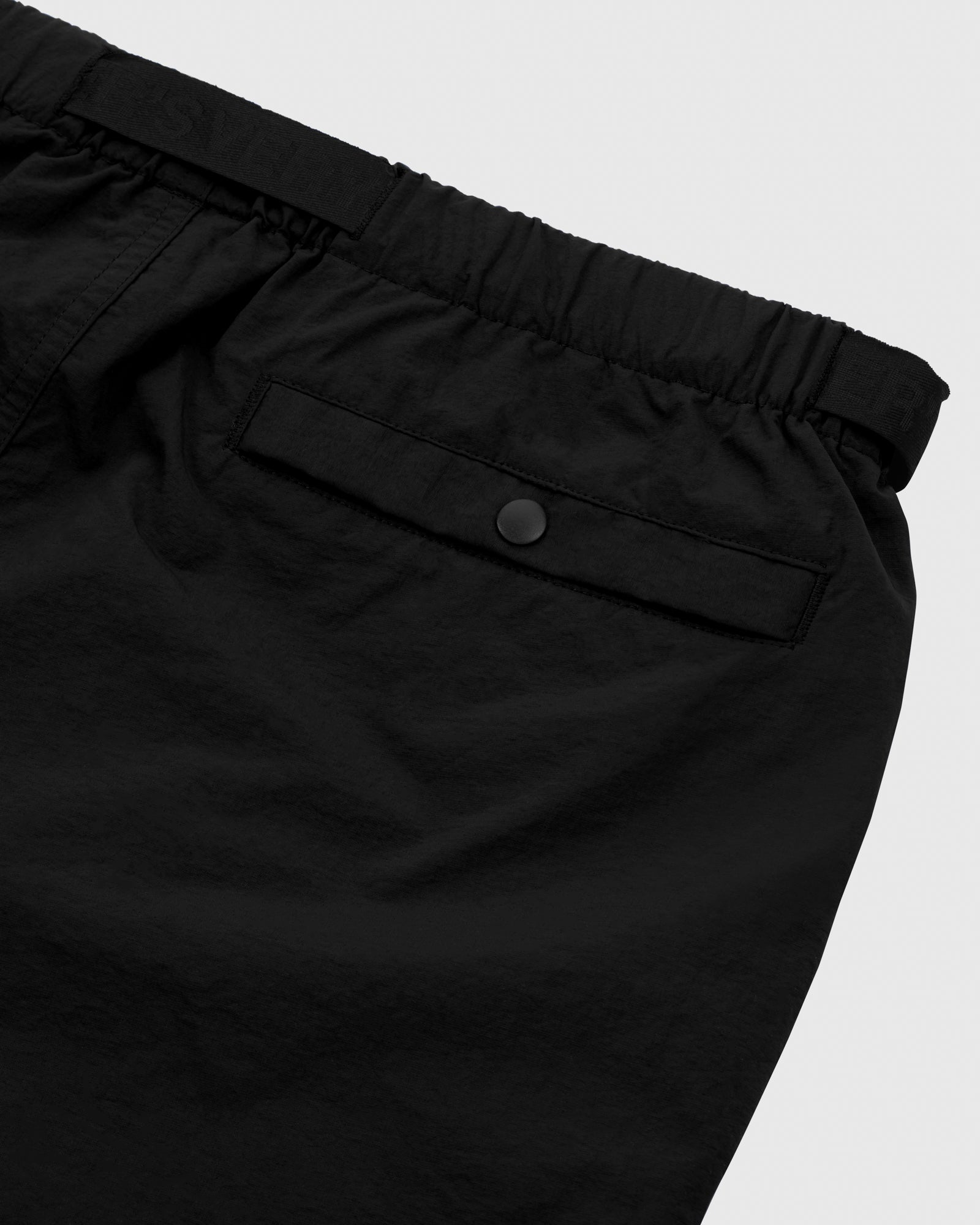 OVO NYLON CAMP SHORT - BLACK