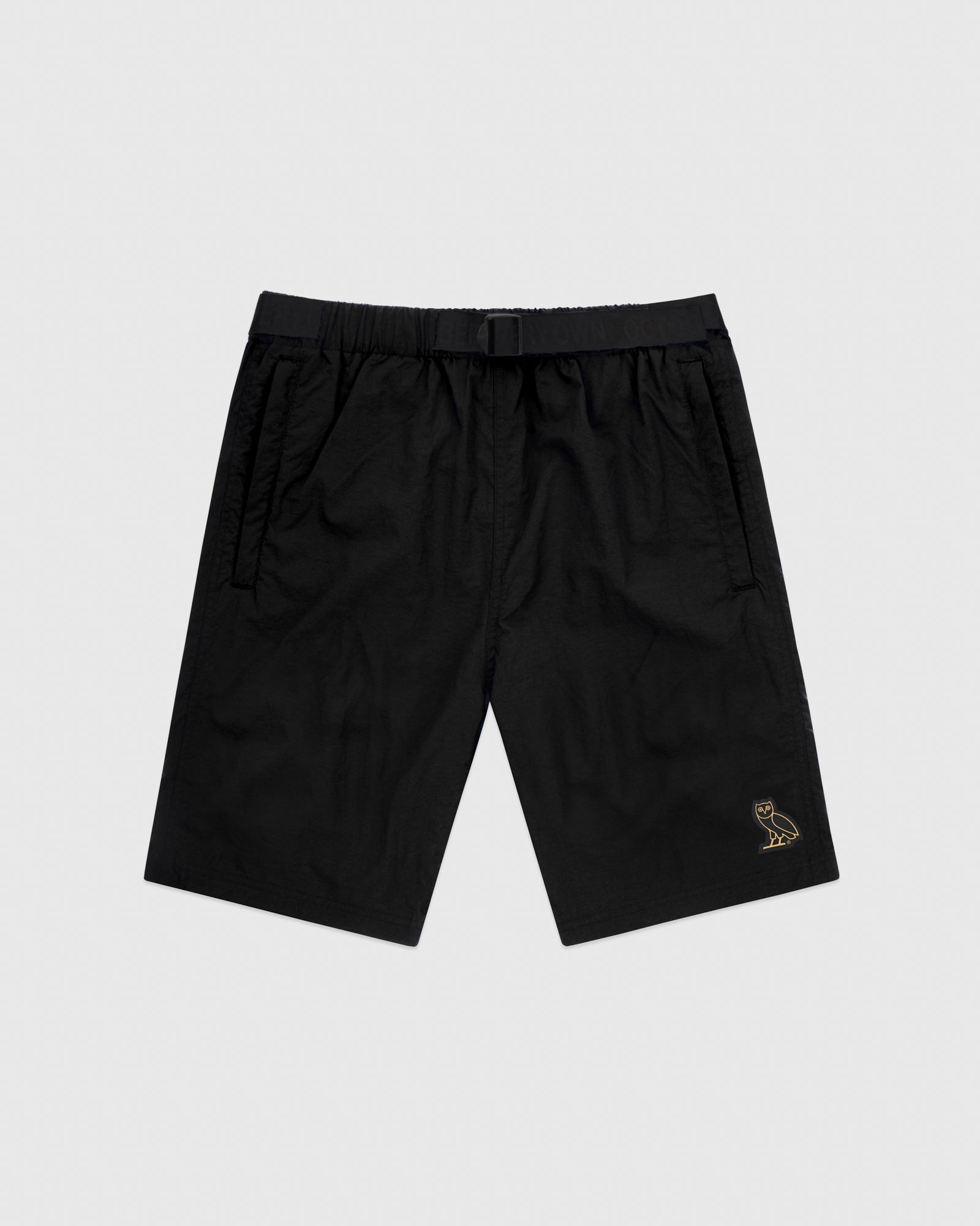 OVO NYLON CAMP SHORT - BLACK IMAGE #1