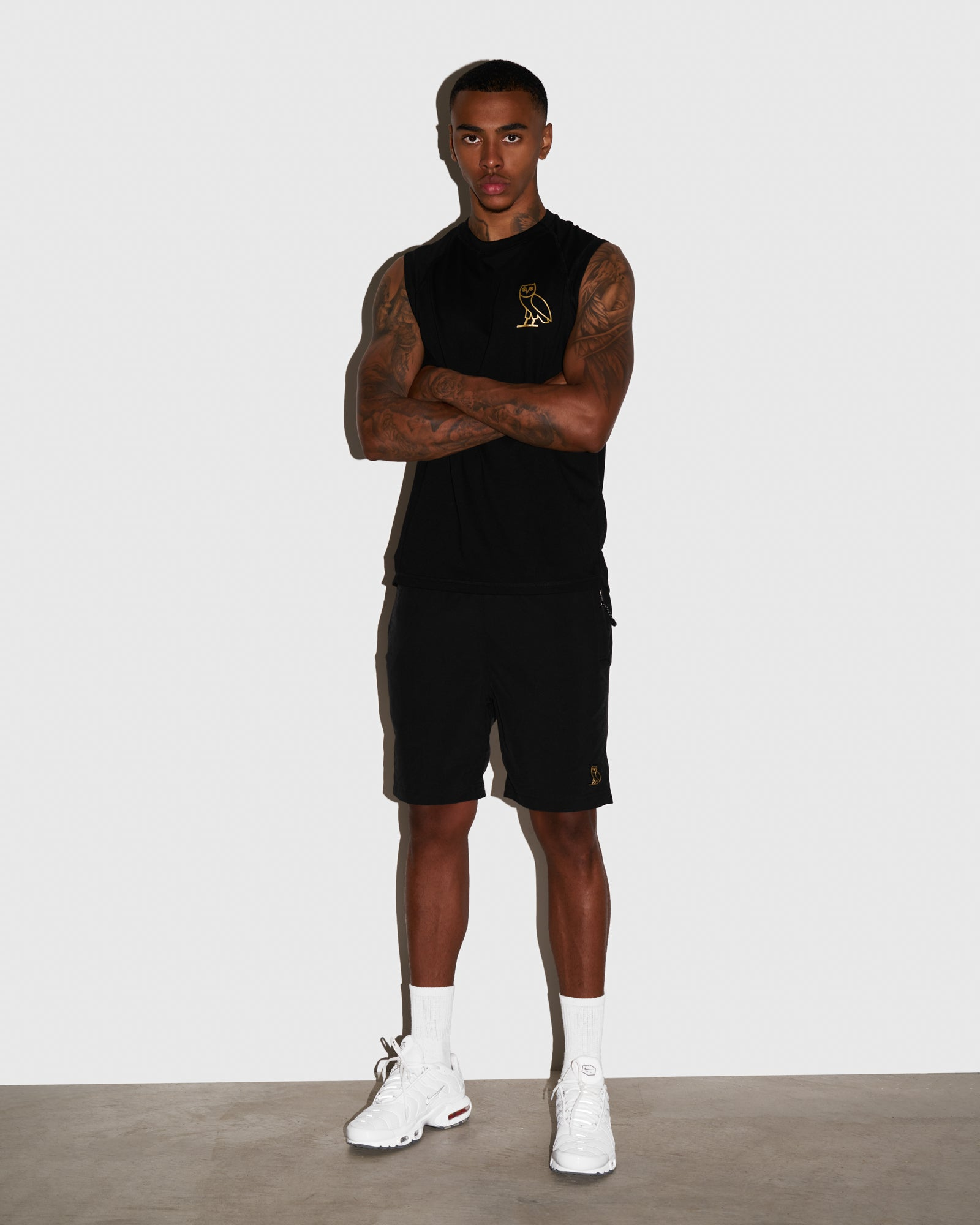 OVO NYLON CAMP SHORT - BLACK IMAGE #2