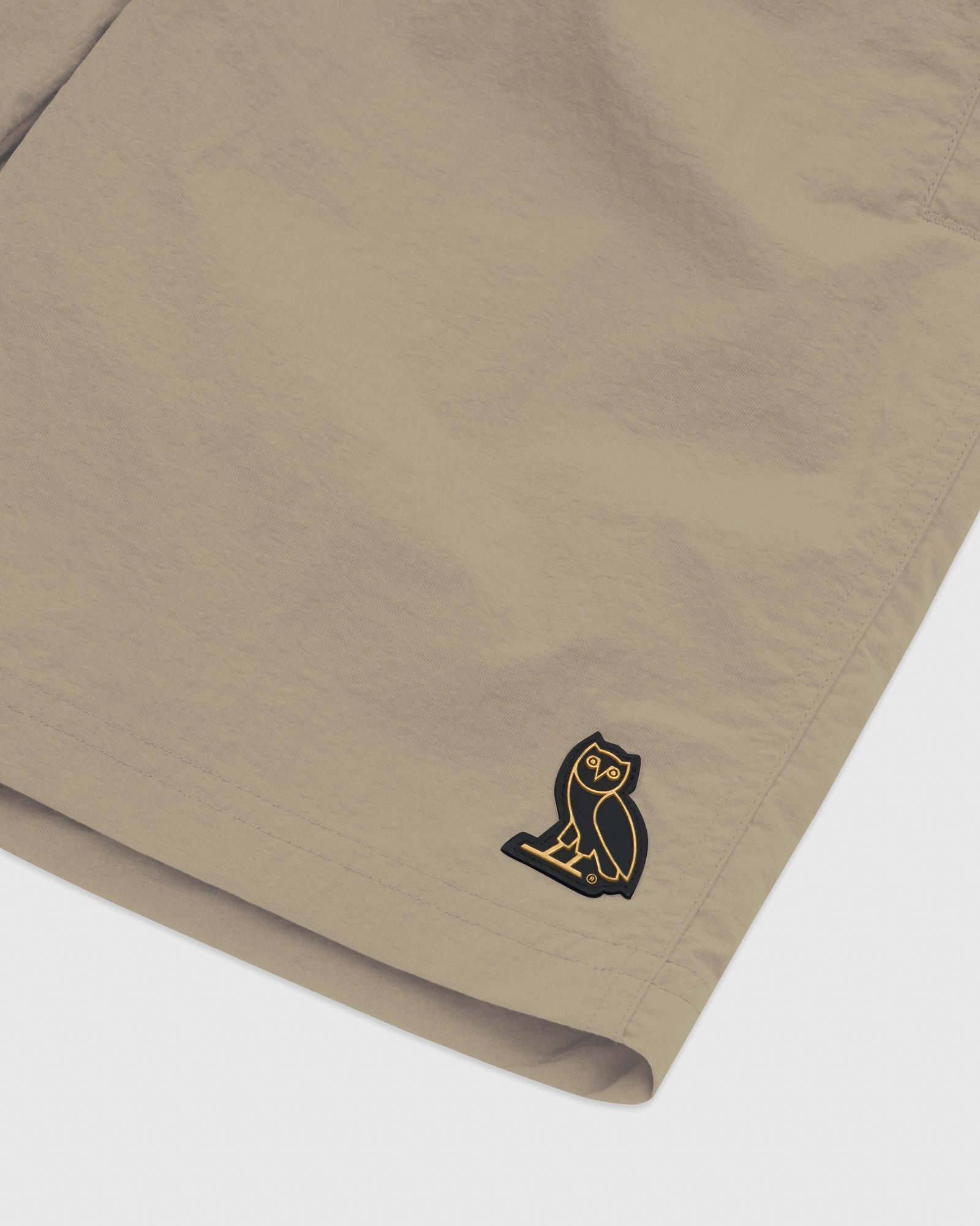 OVO NYLON CAMP SHORT - KHAKI IMAGE #3