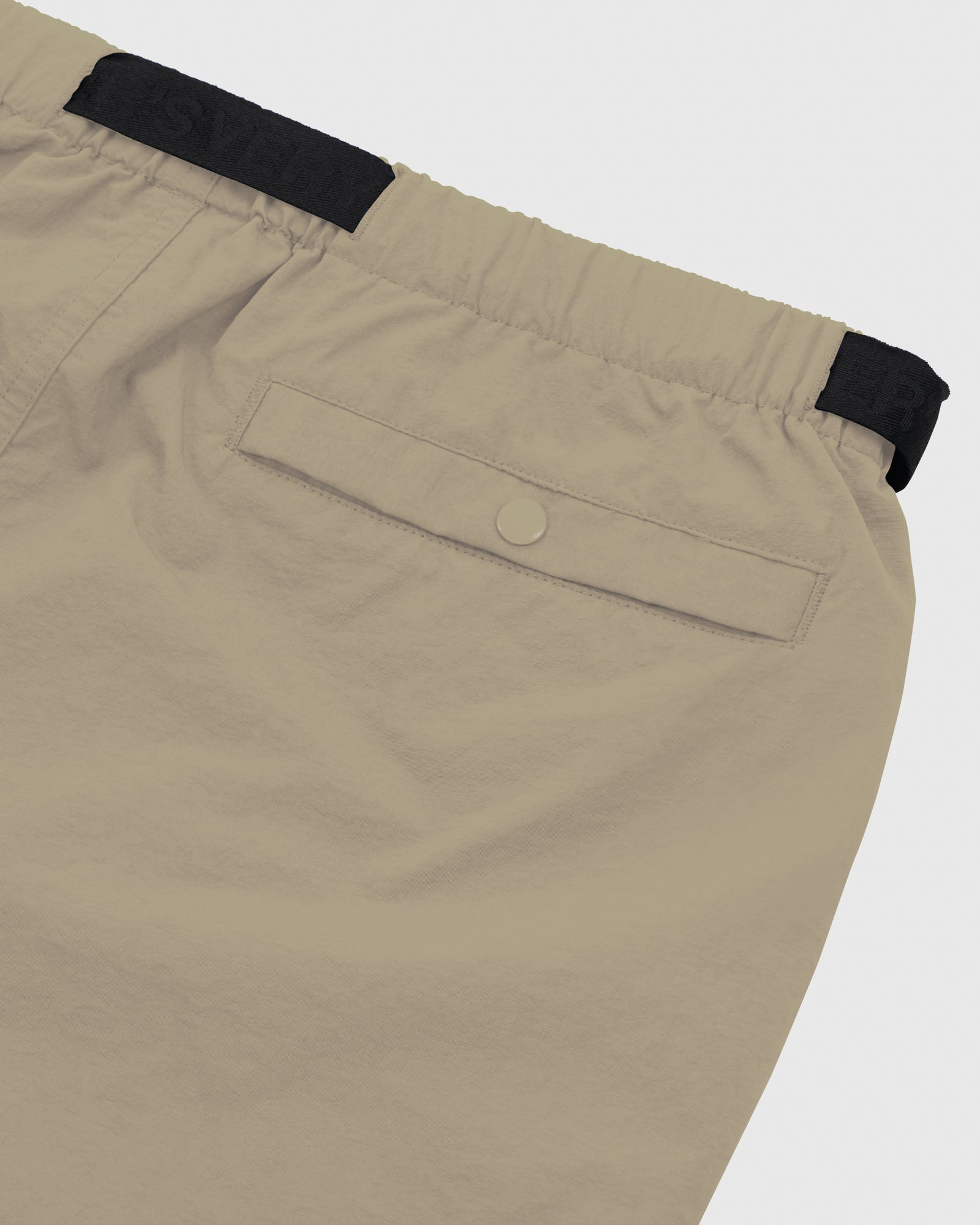 OVO NYLON CAMP SHORT - KHAKI IMAGE #5