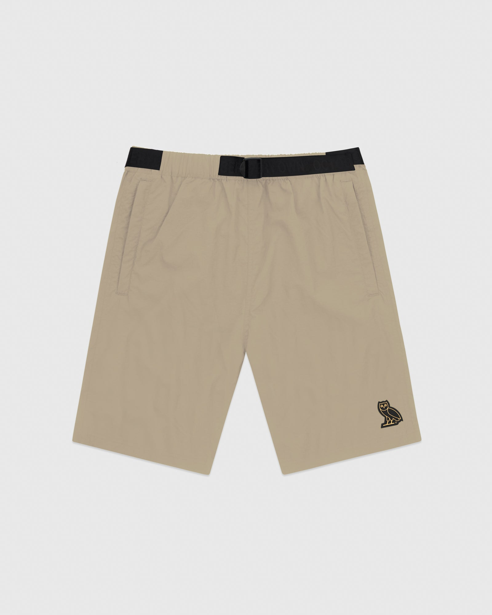 OVO NYLON CAMP SHORT - KHAKI IMAGE #1