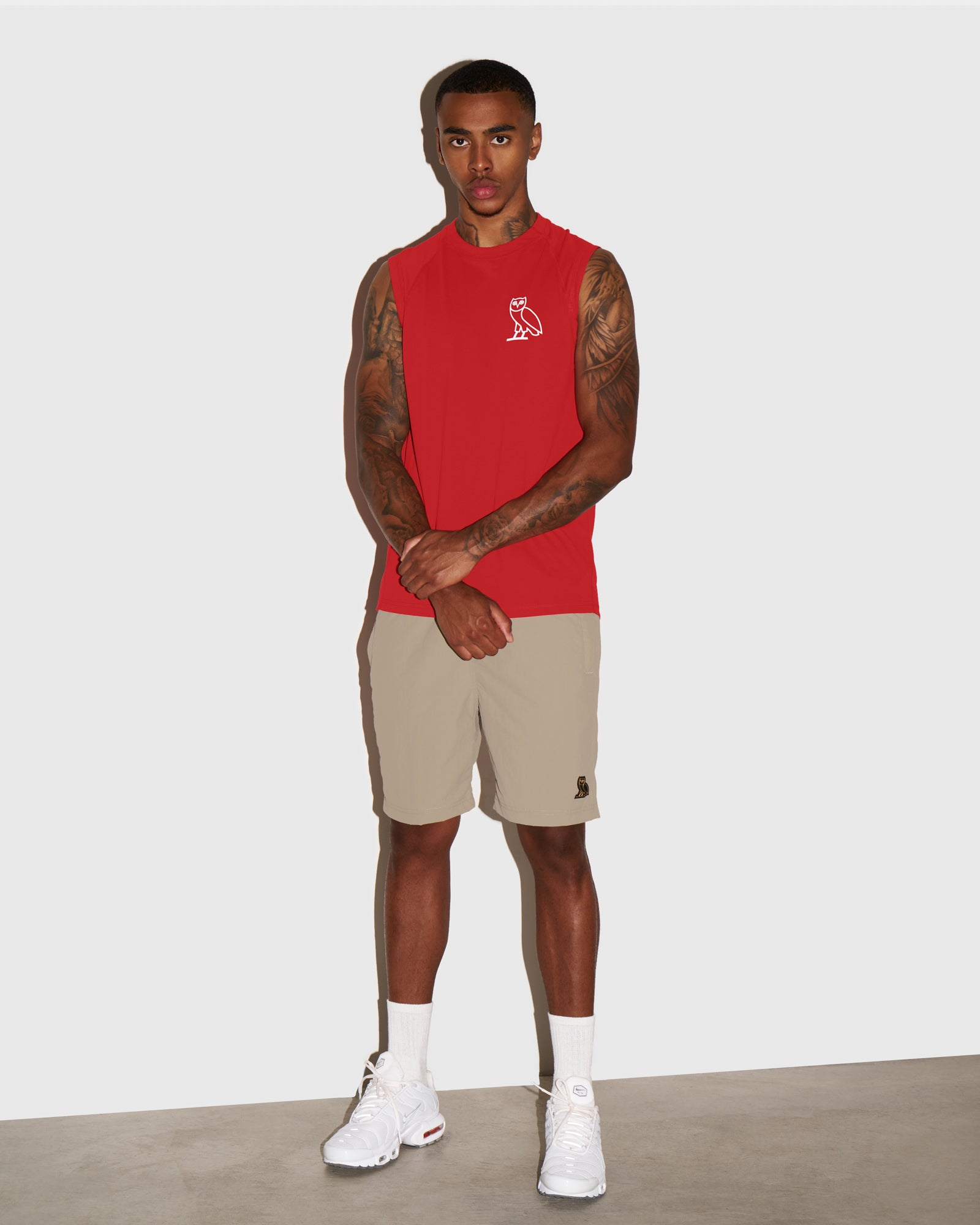 OVO NYLON CAMP SHORT - KHAKI IMAGE #2