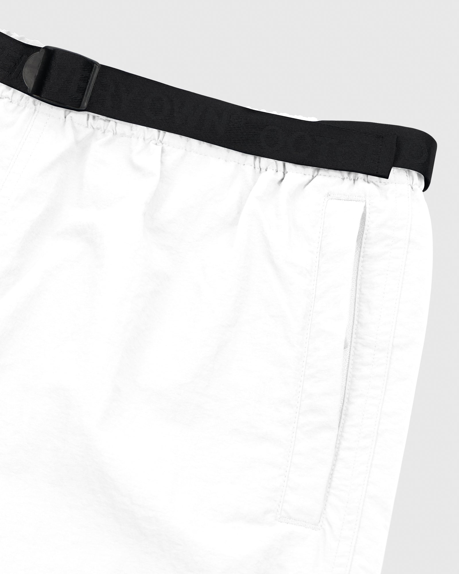 OVO NYLON CAMP SHORT - WHITE