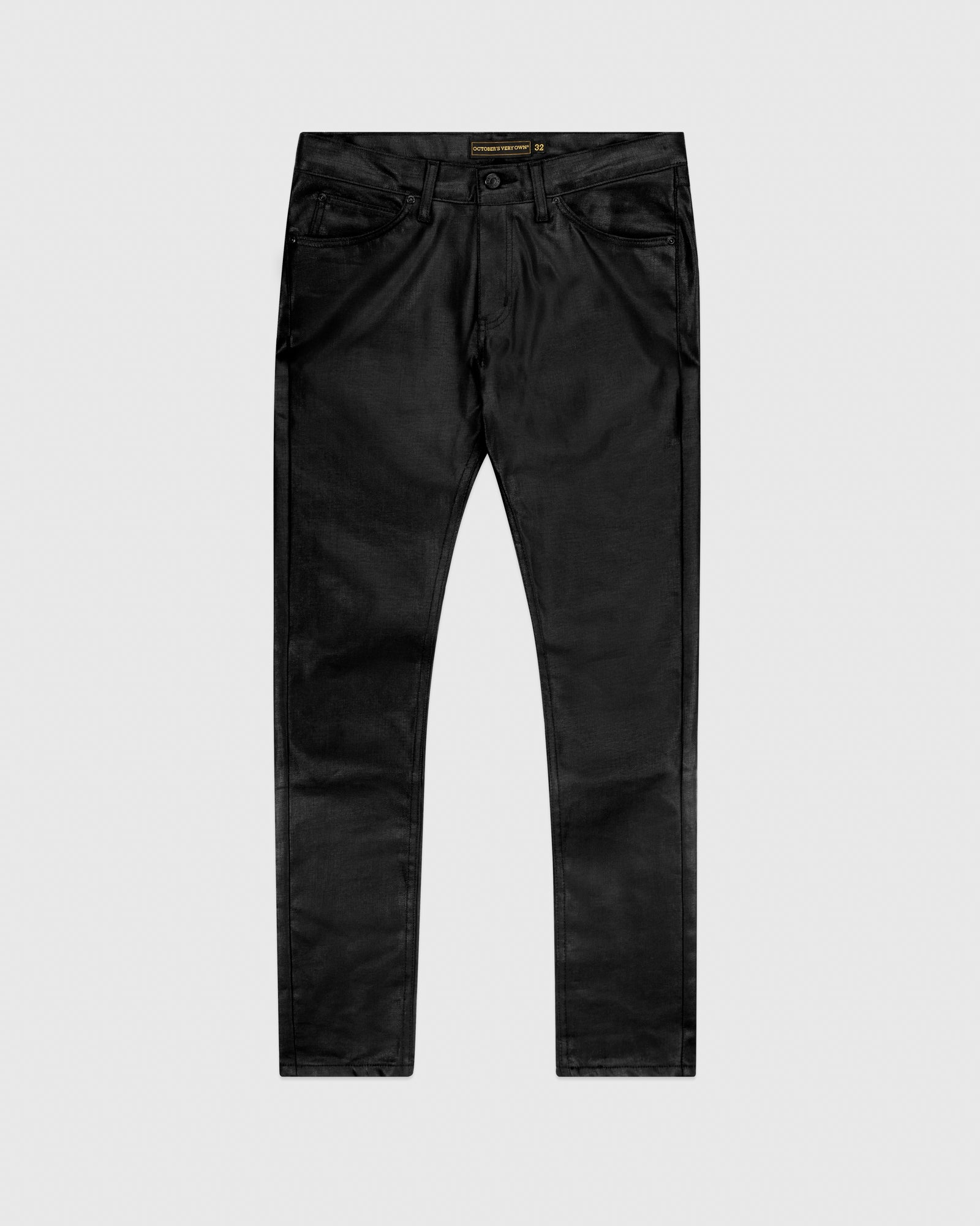 WAXED JEANS - BLACK IMAGE #1