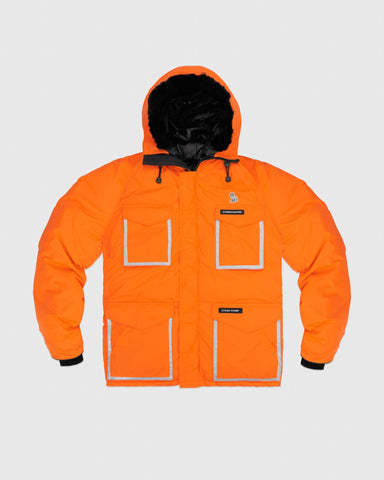 OVO X CANADA GOOSE CONSTABLE PARKA - ORANGE