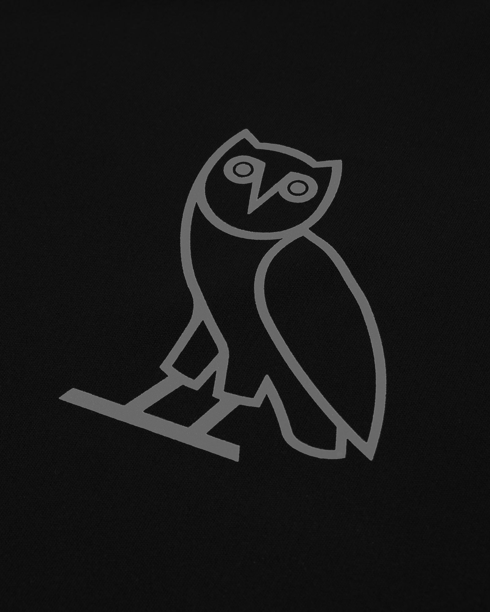 OVO OWL PERFORMANCE LONGSLEEVE T-SHIRT - BLACK IMAGE #3