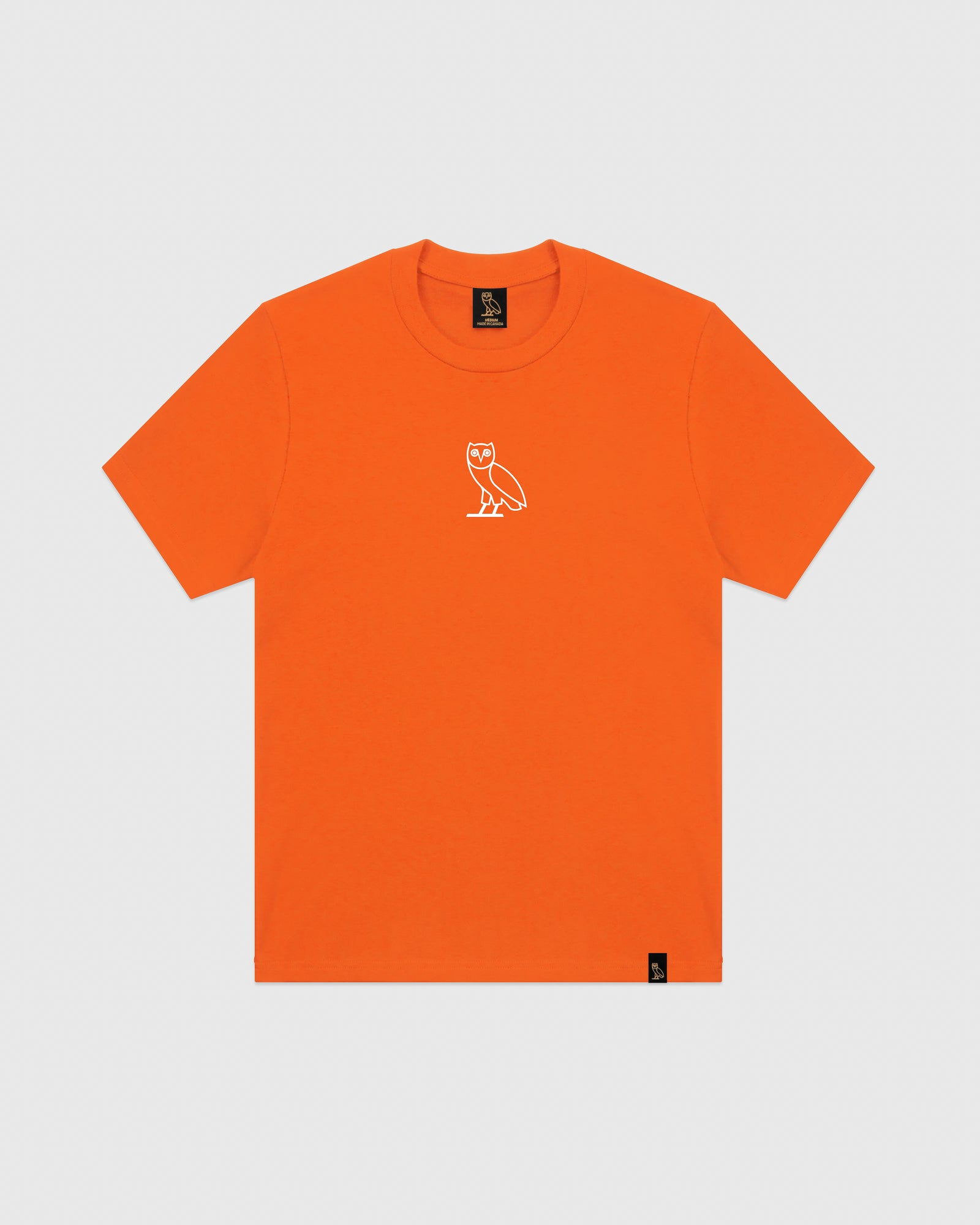 OVO CLASSIC OWL T-SHIRT - ORANGE