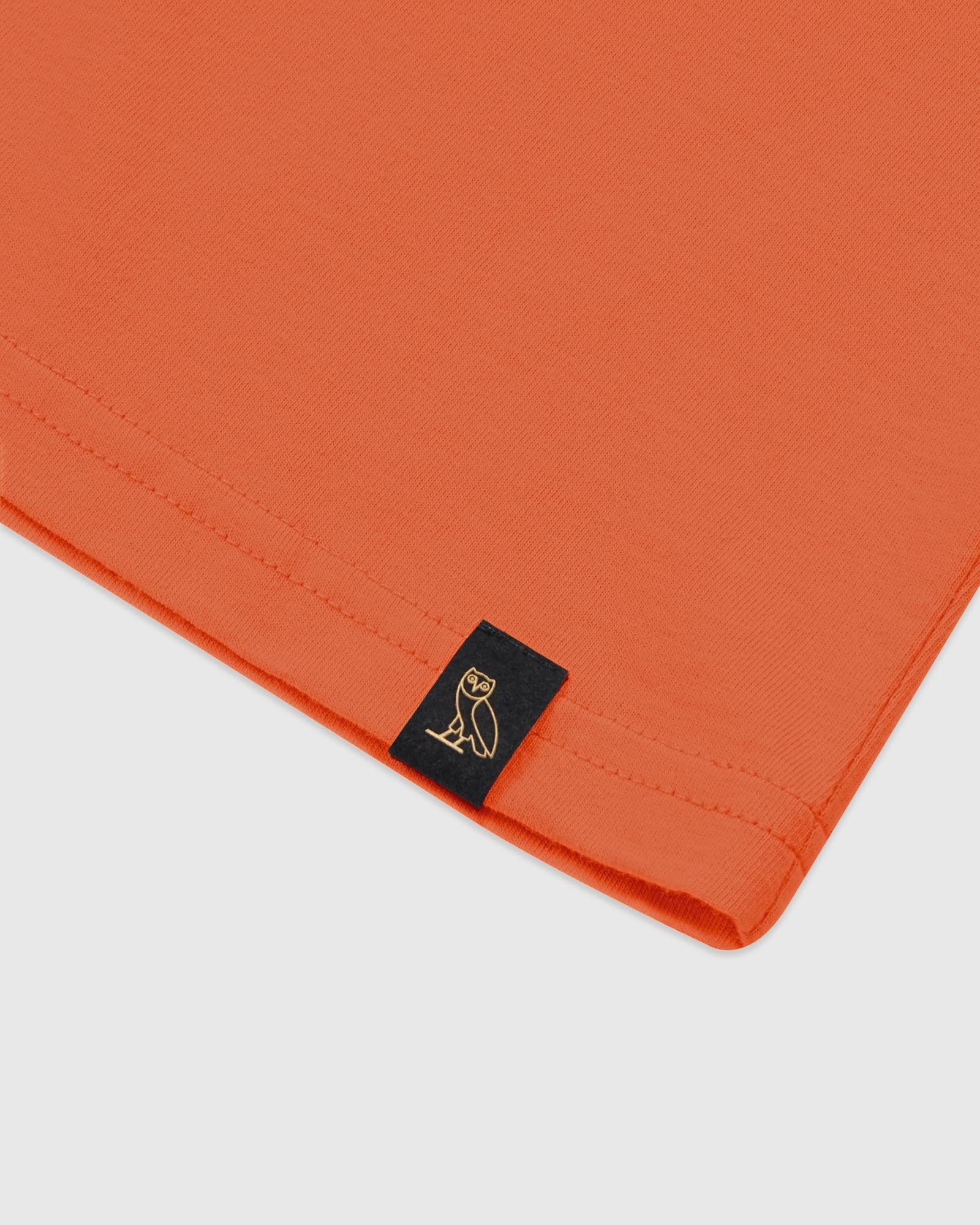 COLLEGIATE ARCH LONGSLEEVE T-SHIRT - ORANGE IMAGE #4