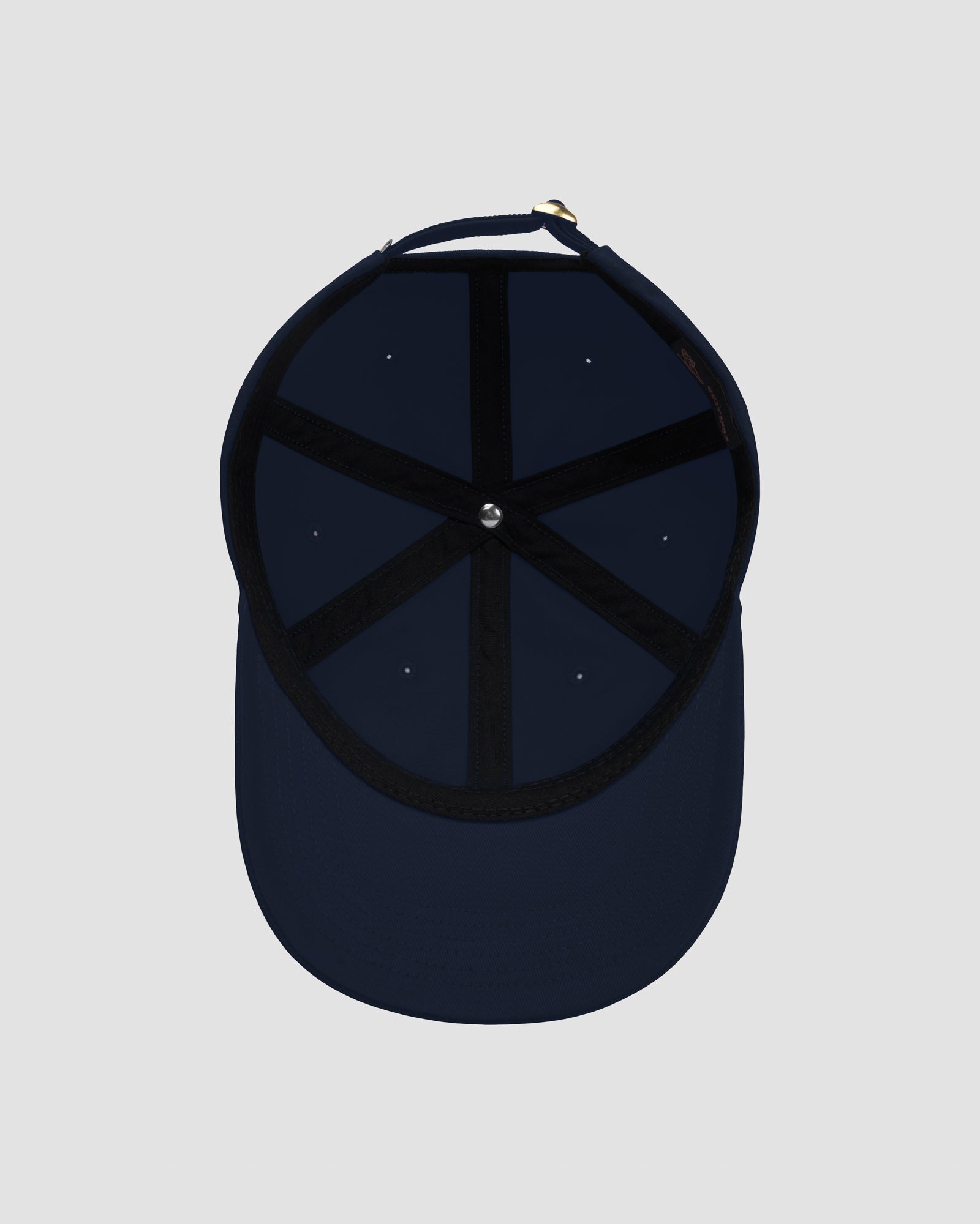 OVO COTTON TWILL CAP - NAVY IMAGE #5