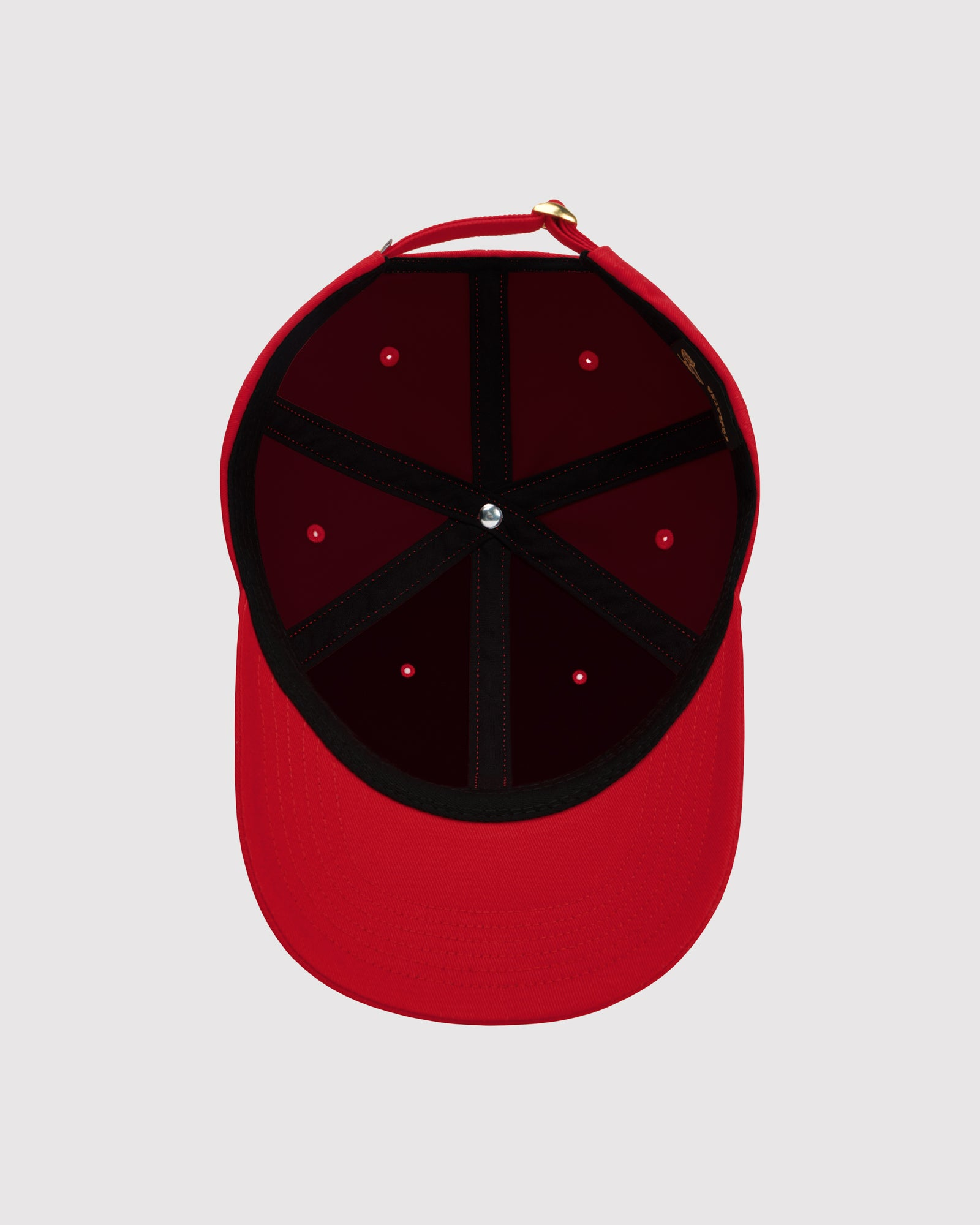 OVO COTTON TWILL CAP - RED IMAGE #5