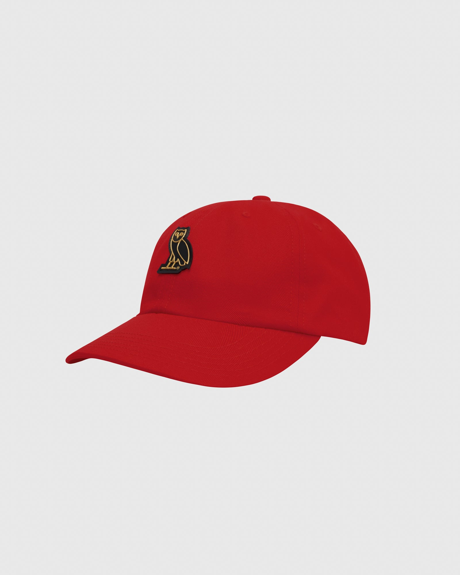 OVO COTTON TWILL CAP - RED IMAGE #3