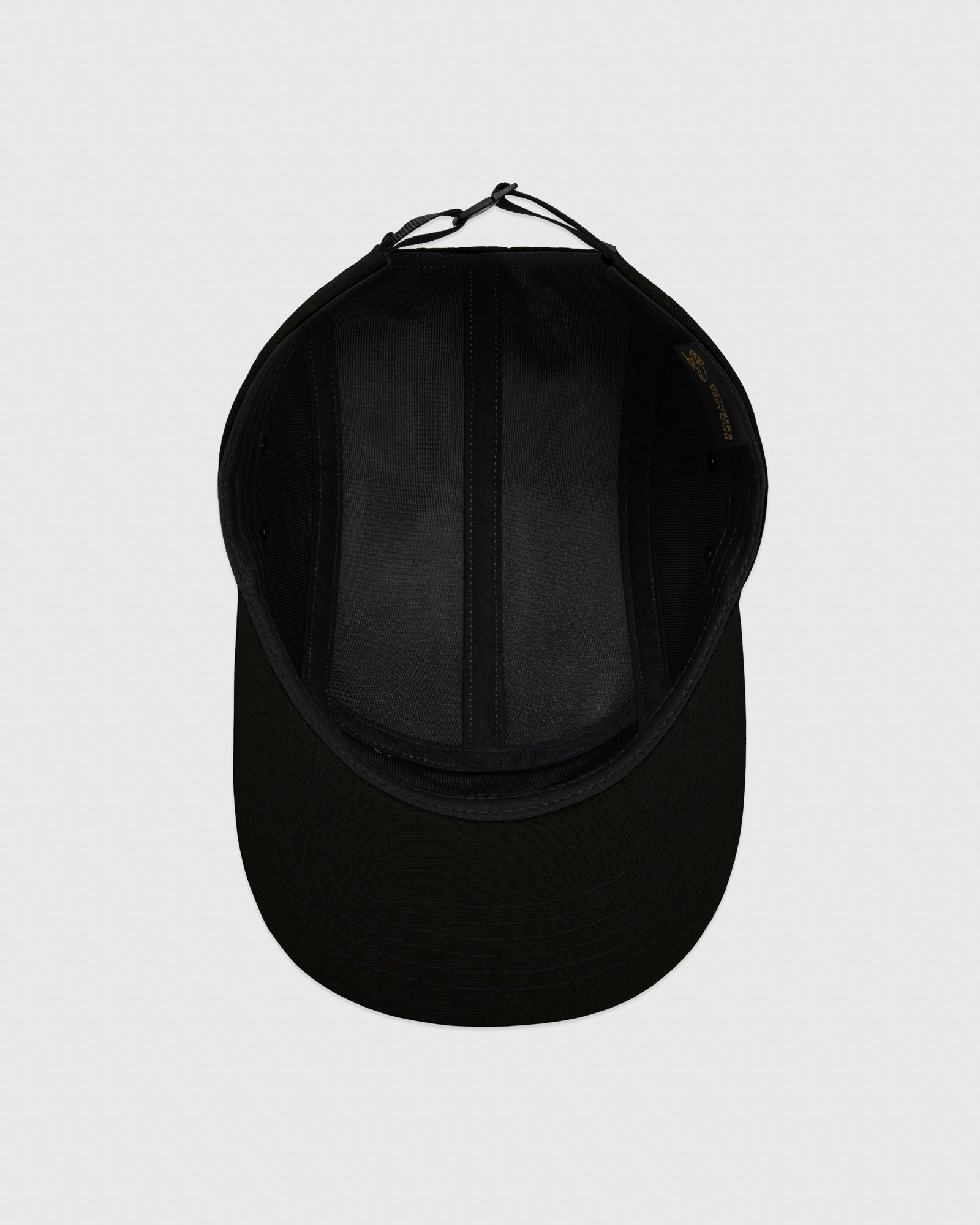 OVO RIPSTOP 5-PANEL CAP - BLACK
