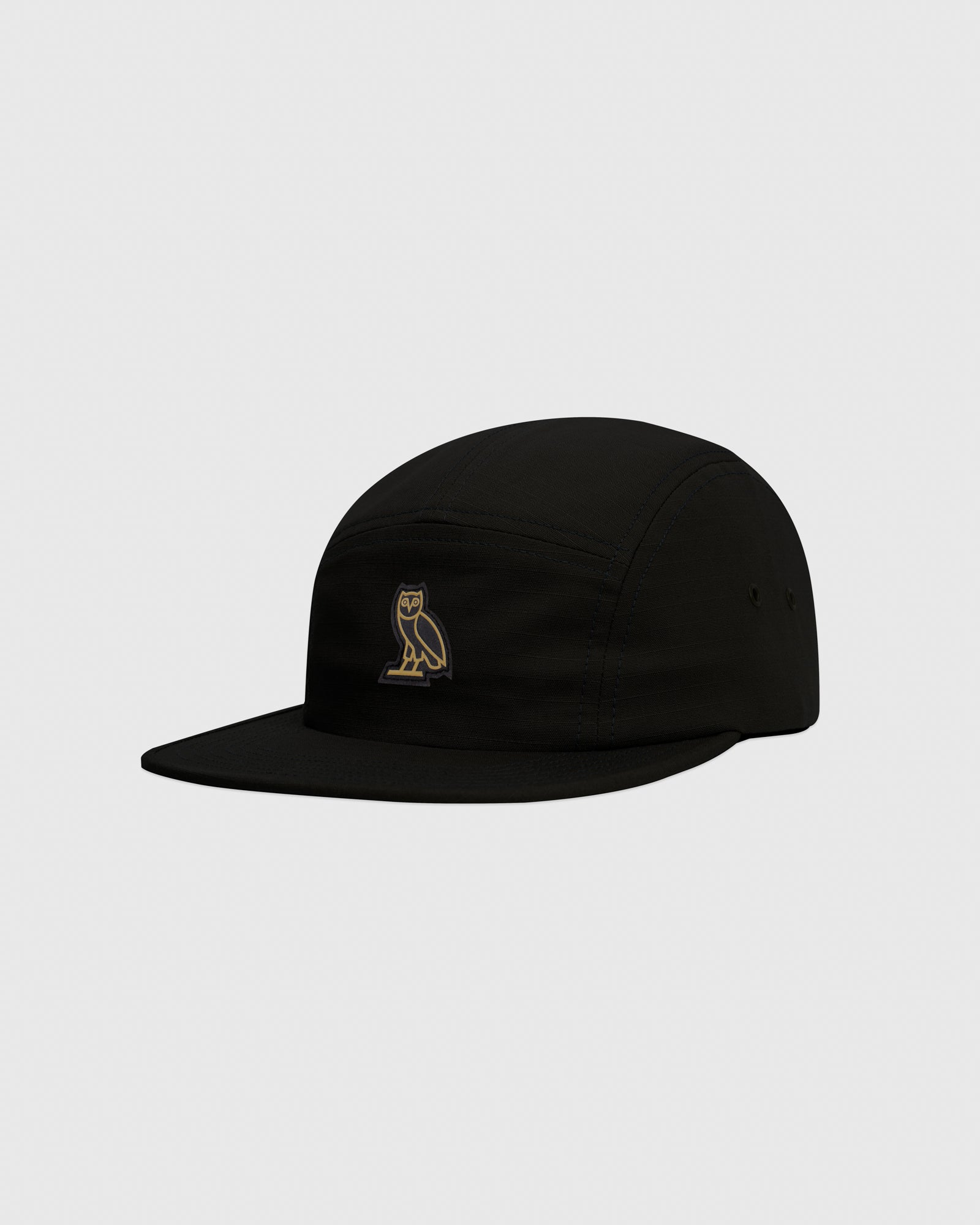 OVO RIPSTOP 5-PANEL CAP - BLACK IMAGE #3