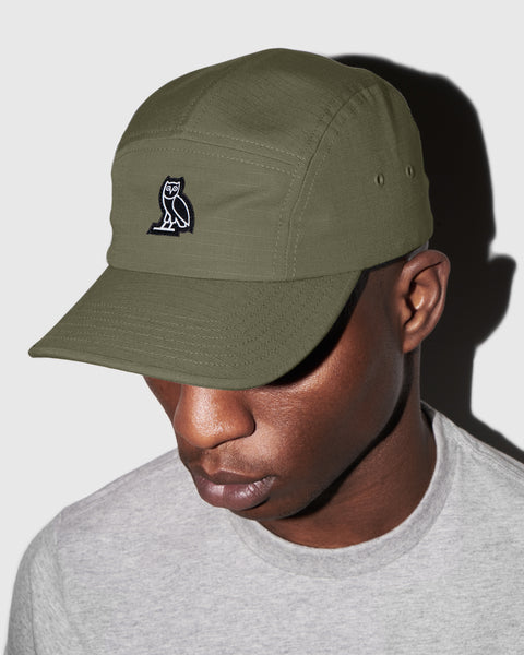 a510b121df5e3 OVO RIPSTOP 5-PANEL CAP - MILITARY GREEN – October s Very Own Online US