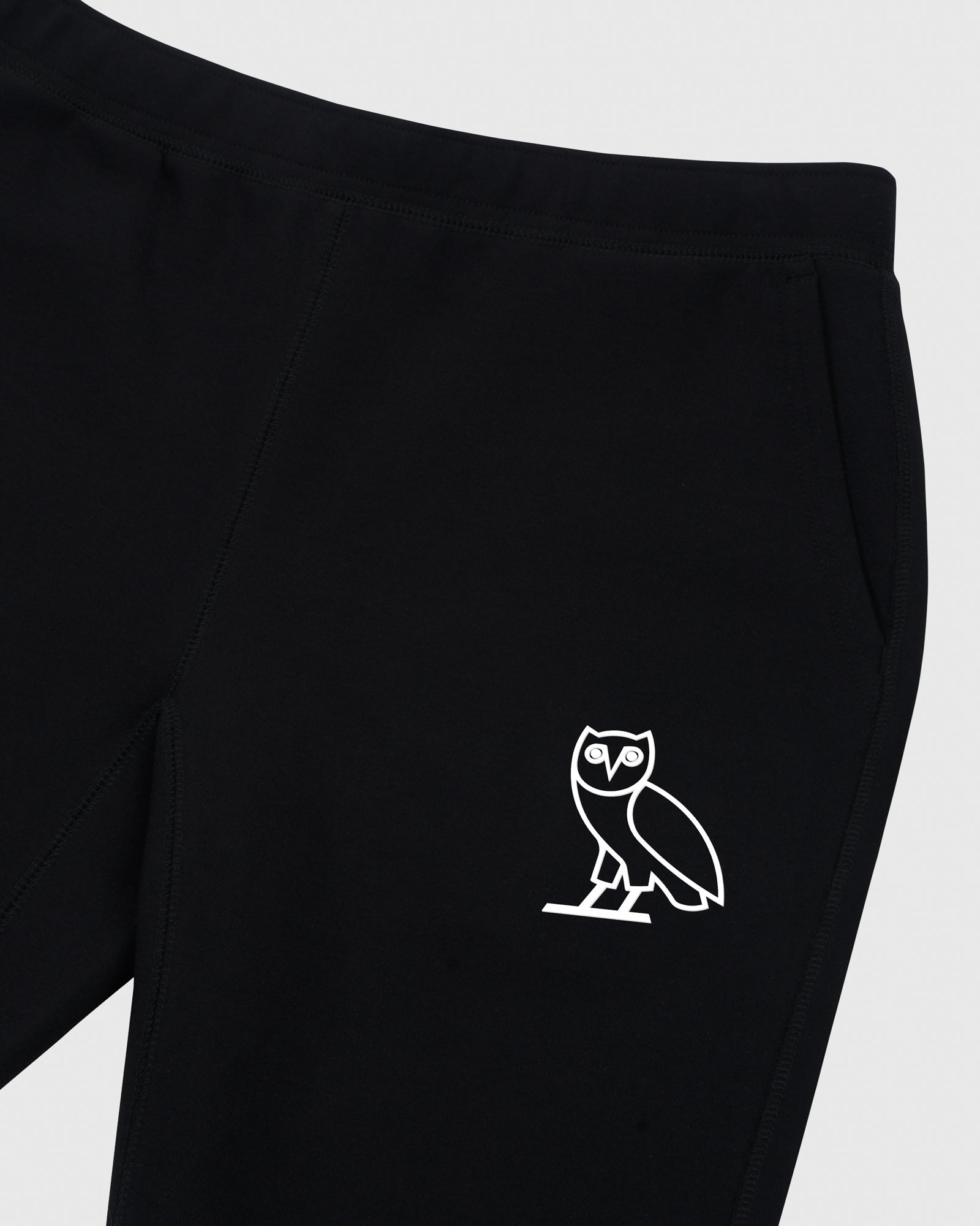 DOUBLE KNIT SWEATPANT - BLACK IMAGE #3