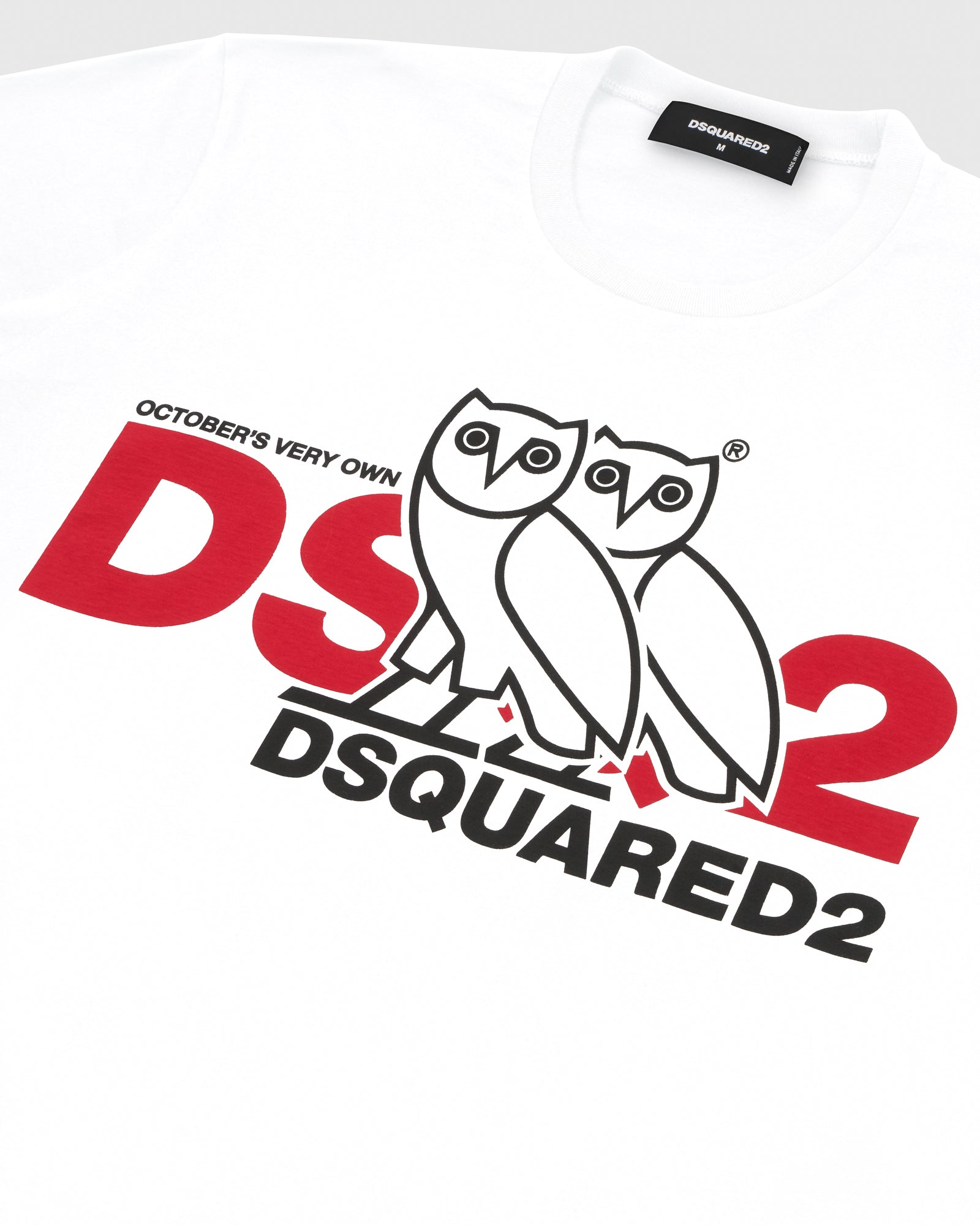 OVO x DSQUARED2 T-SHIRT - WHITE IMAGE #3