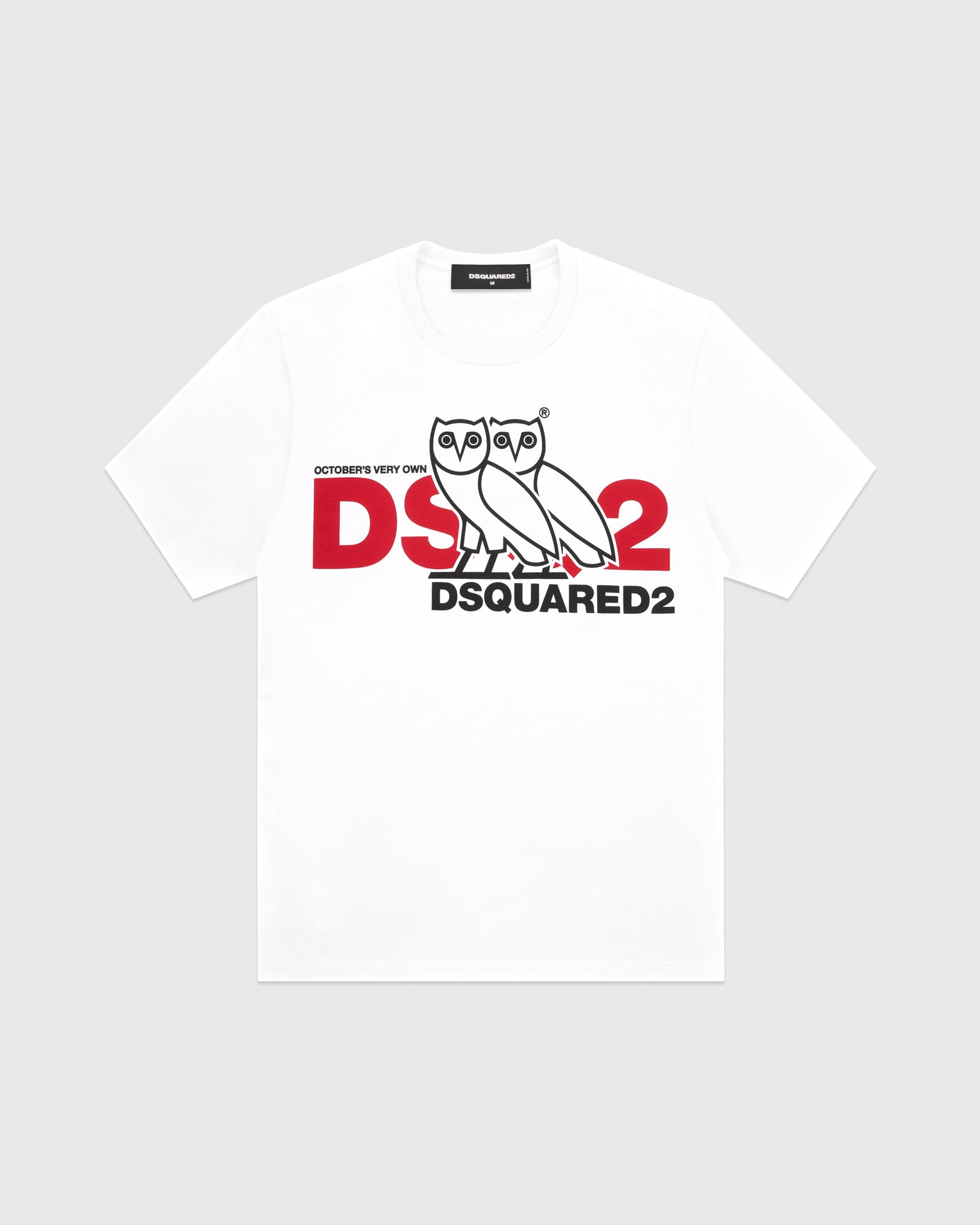 OVO x DSQUARED2 T-SHIRT - WHITE IMAGE #1