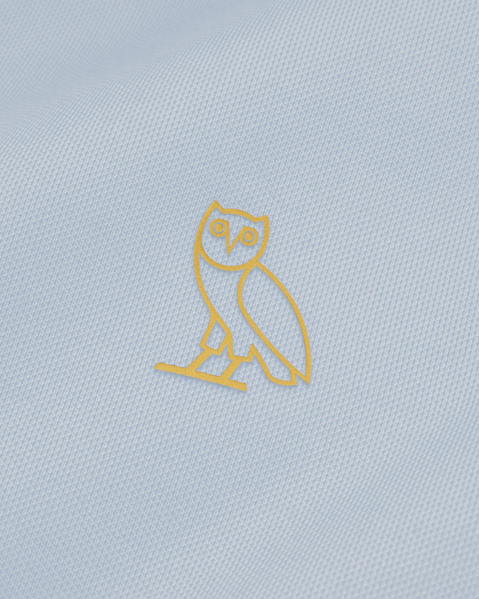 OVO PIQUE JACKET - LIGHT BLUE IMAGE #3