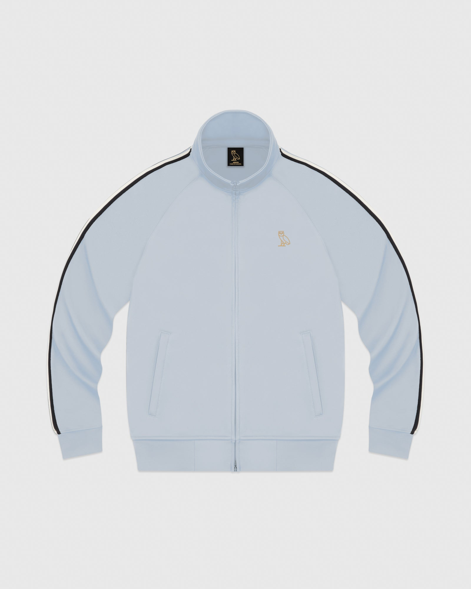 OVO PIQUE JACKET - LIGHT BLUE IMAGE #1