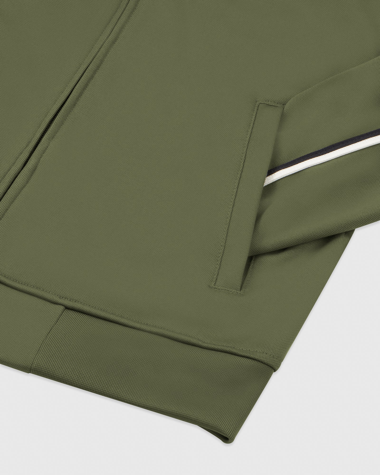 OVO PIQUE JACKET - MILITARY GREEN IMAGE #5