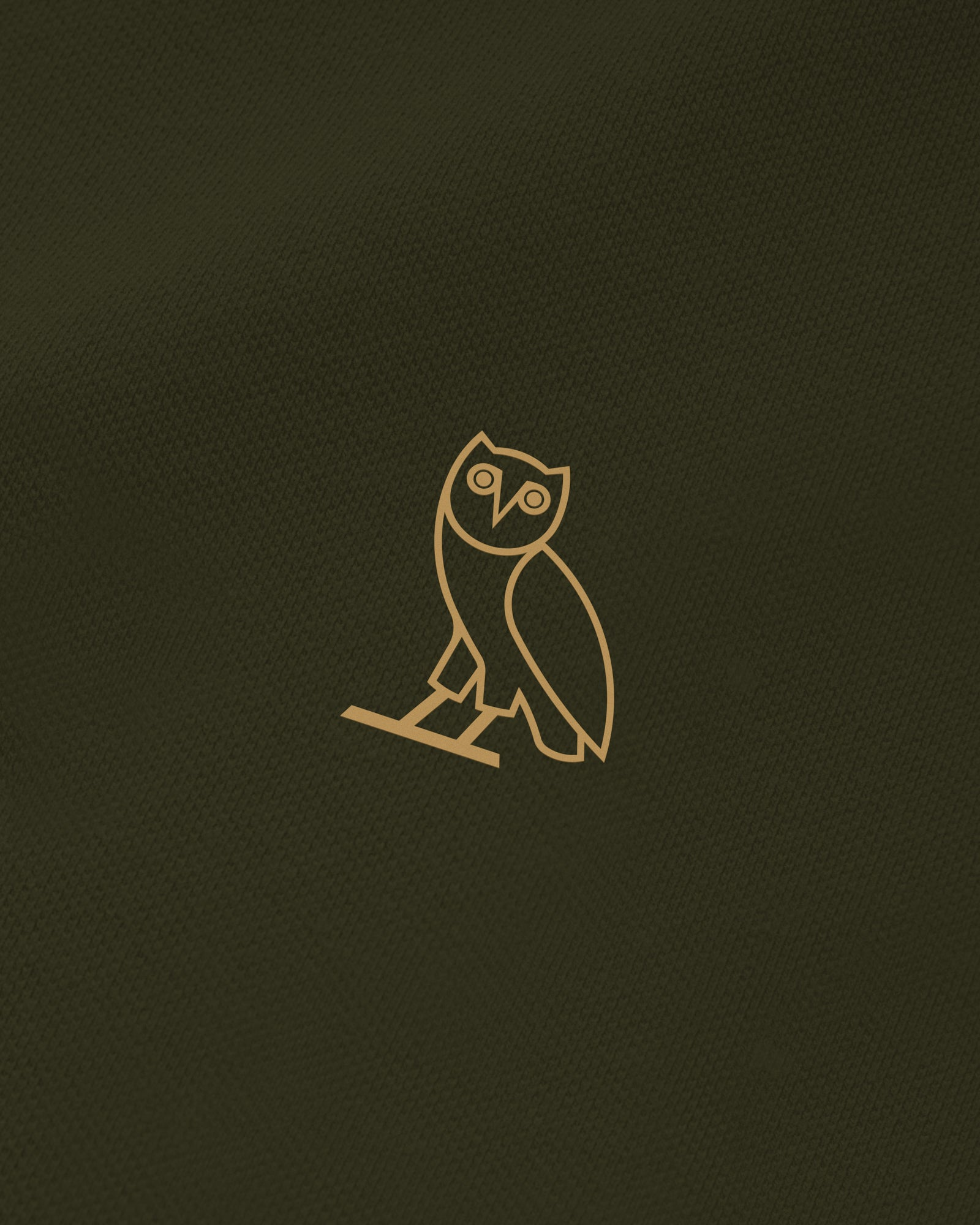 OVO PIQUE POLO - MILITARY GREEN IMAGE #4