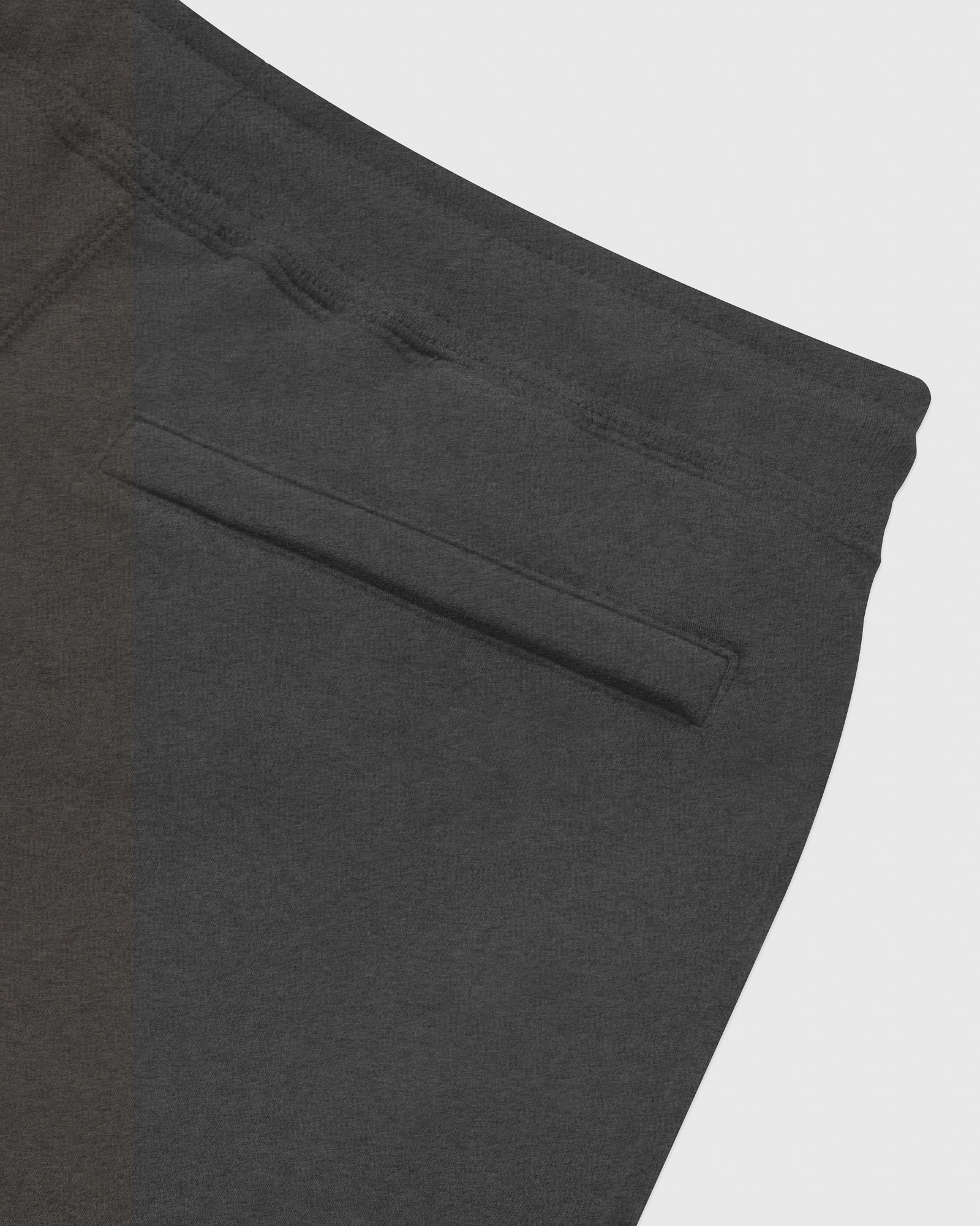 MID-WEIGHT FRENCH TERRY SWEATPANT - HEATHER CHARCOAL IMAGE #6
