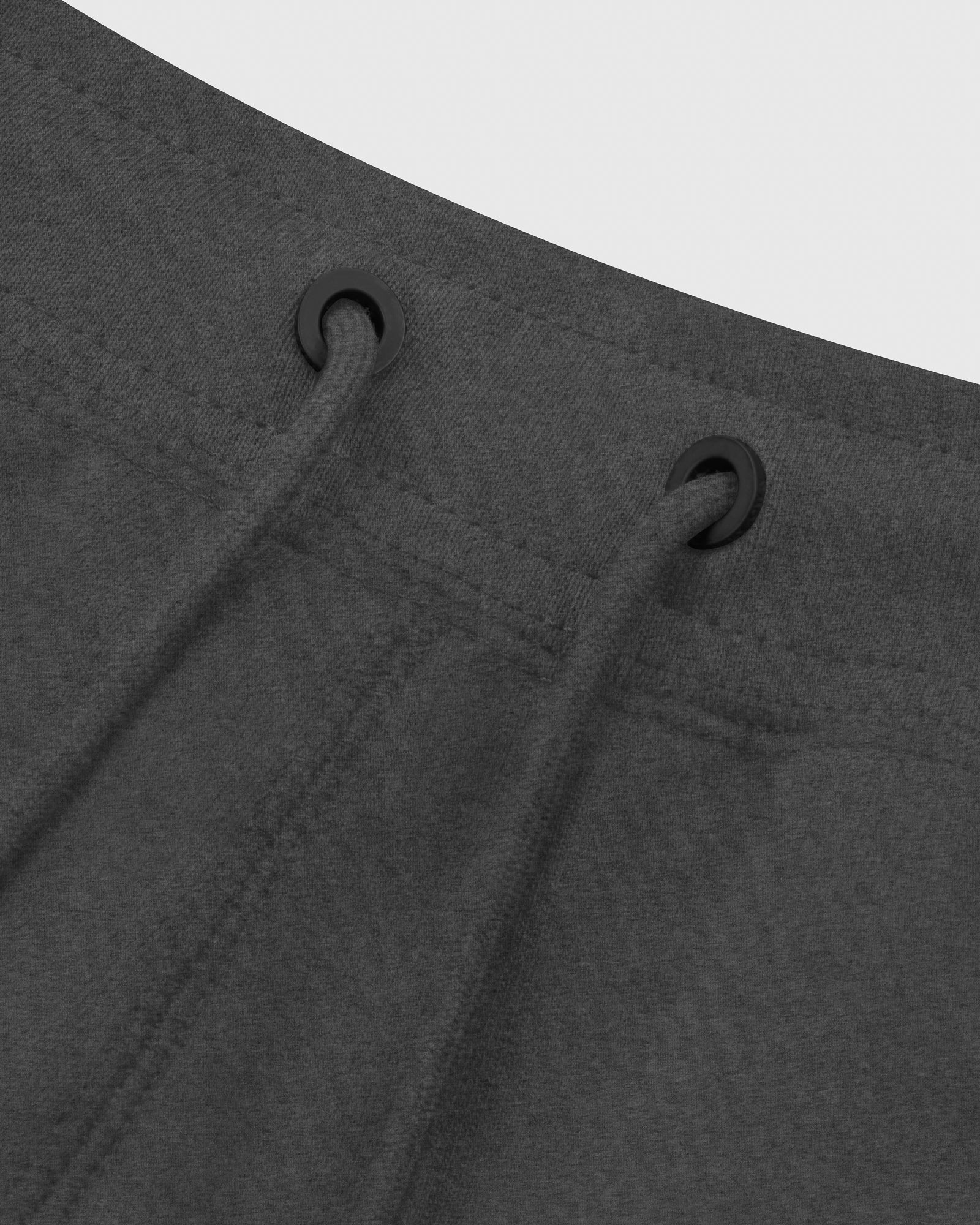 MID-WEIGHT FRENCH TERRY SWEATPANT - HEATHER CHARCOAL IMAGE #4