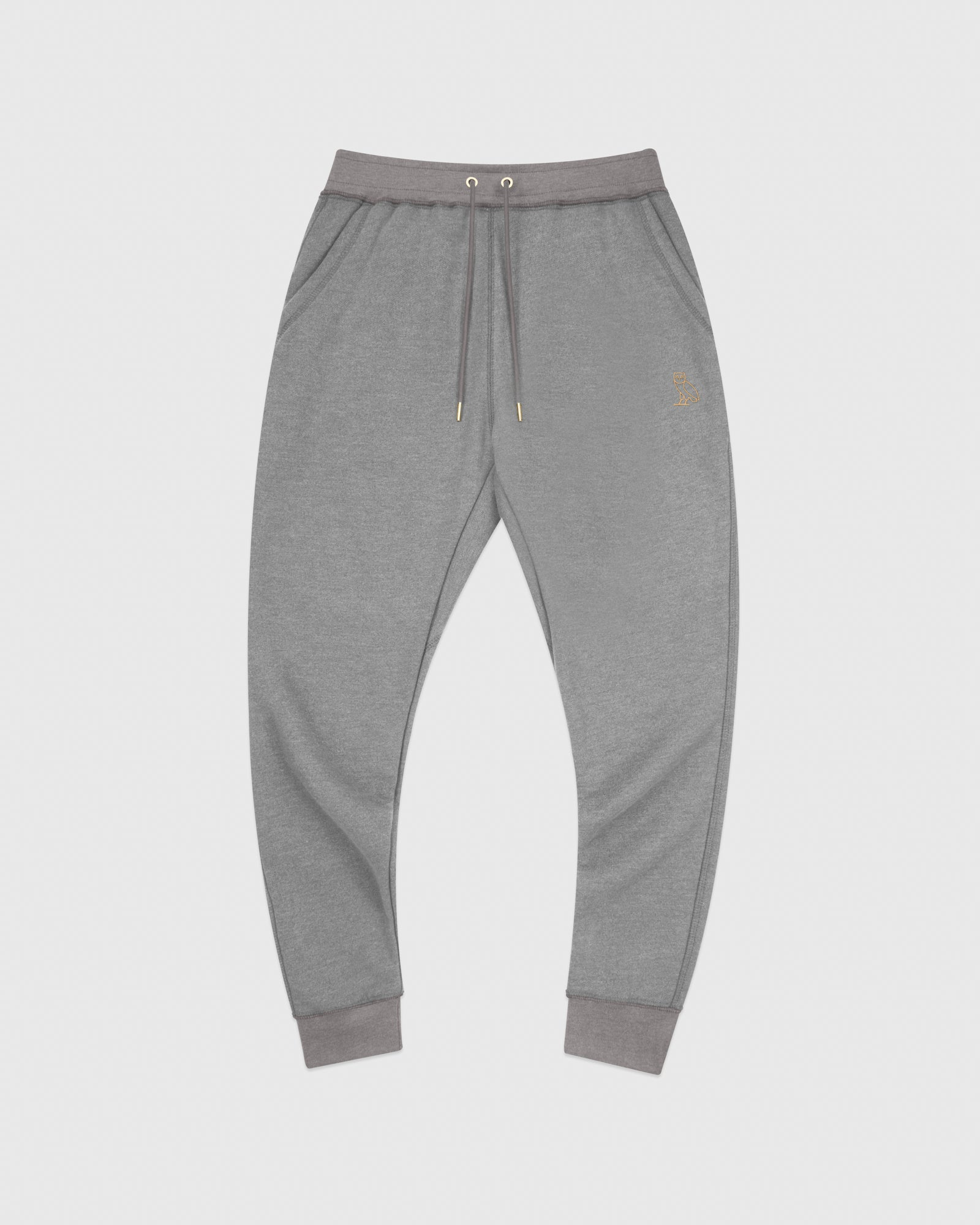 OVO FRENCH TERRY SWEATPANT - HEATHER ASH GREY IMAGE #1