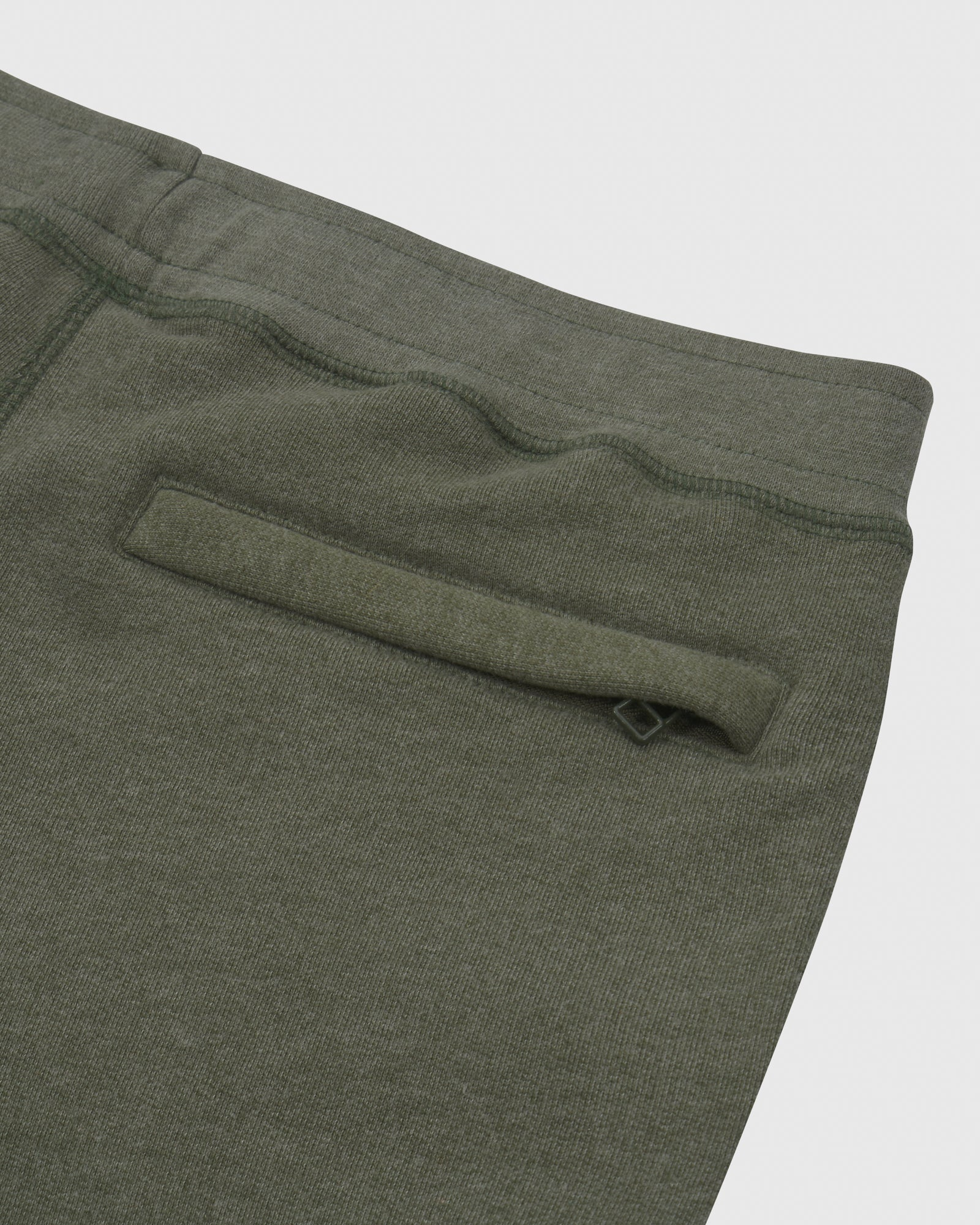 OVO FRENCH TERRY SWEATPANT - HEATHER MILITARY GREEN IMAGE #6