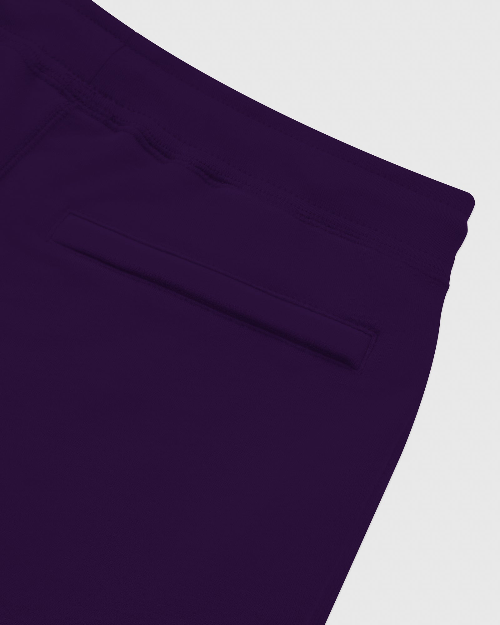 MID-WEIGHT FRENCH TERRY SWEATPANT - PURPLE IMAGE #6