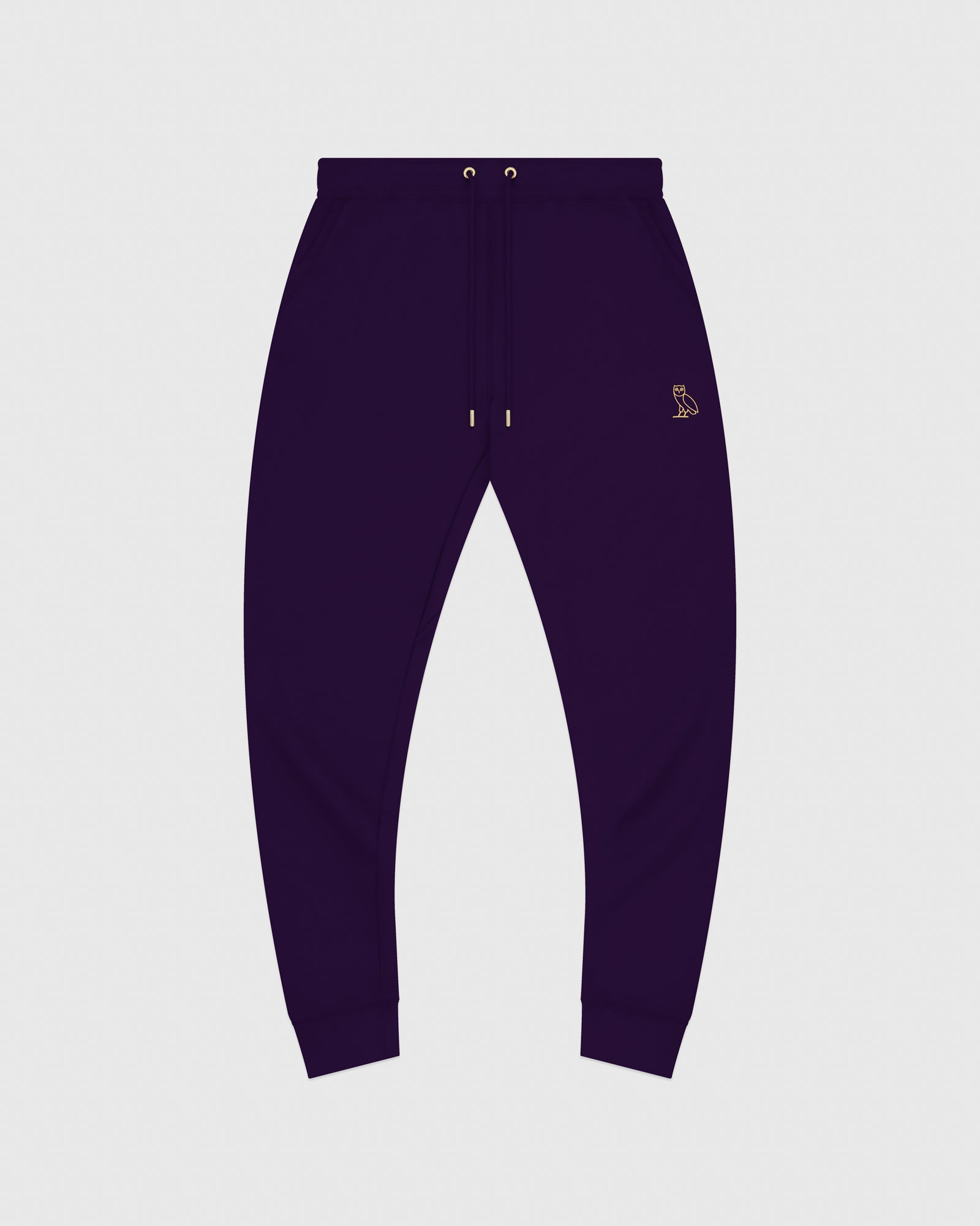 MID-WEIGHT FRENCH TERRY SWEATPANT - PURPLE IMAGE #1