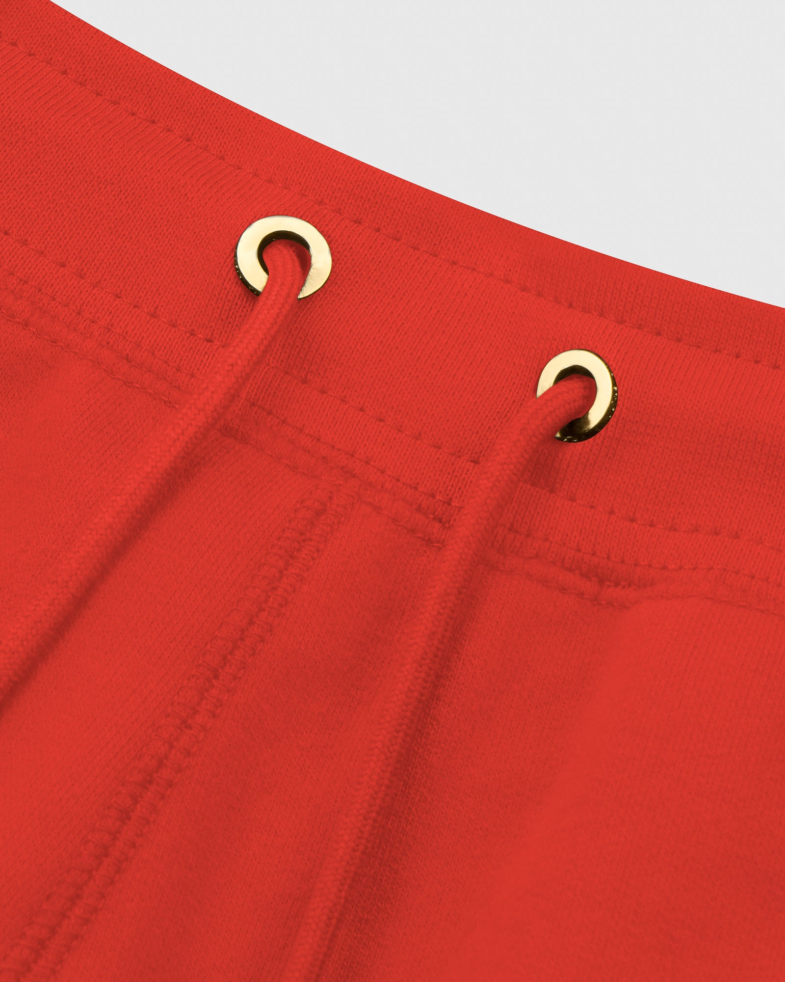 MID-WEIGHT FRENCH TERRY SWEATPANT - RED