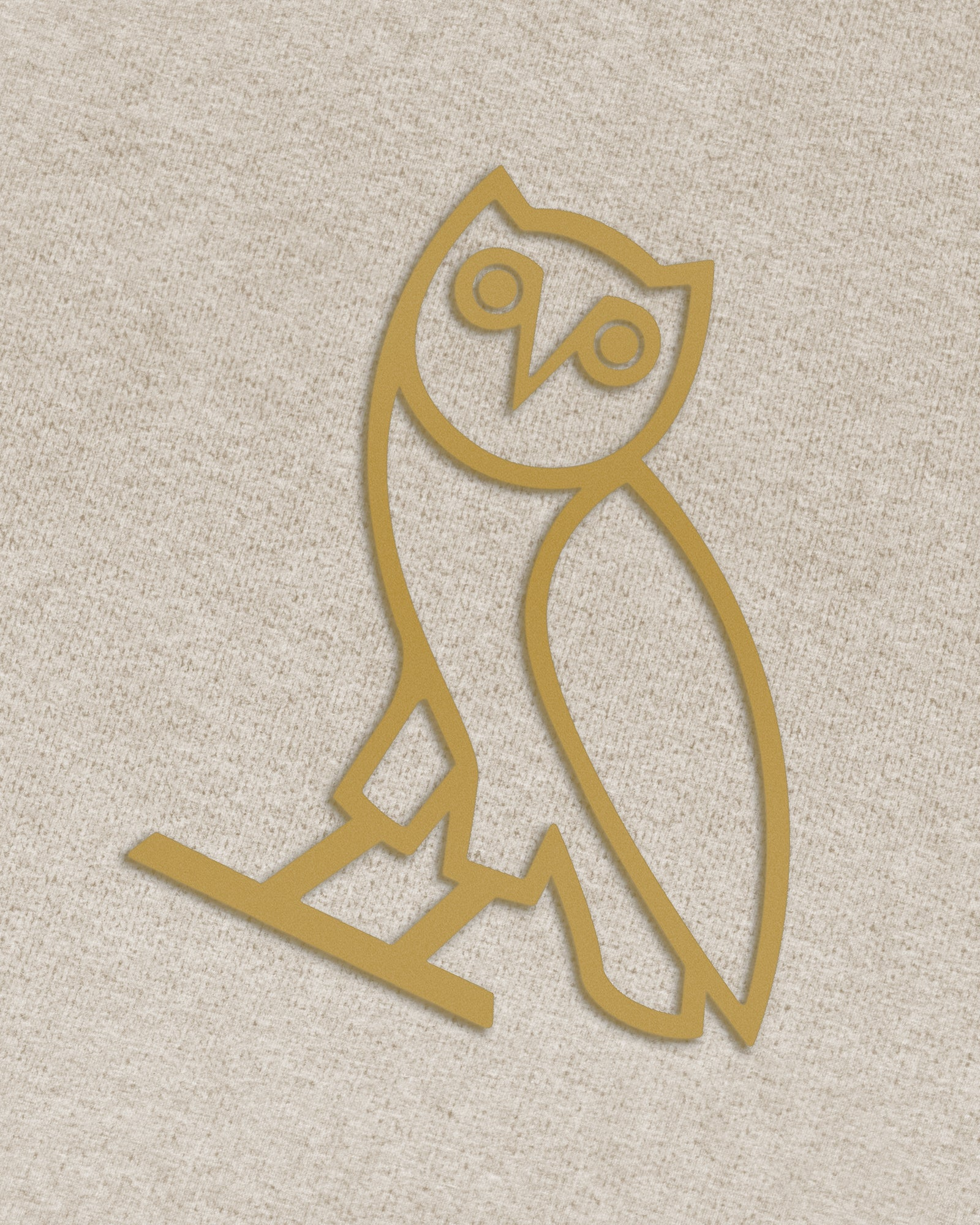 OVO OATMEAL FRENCH TERRY SWEATPANT - HEATHER OATMEAL IMAGE #3