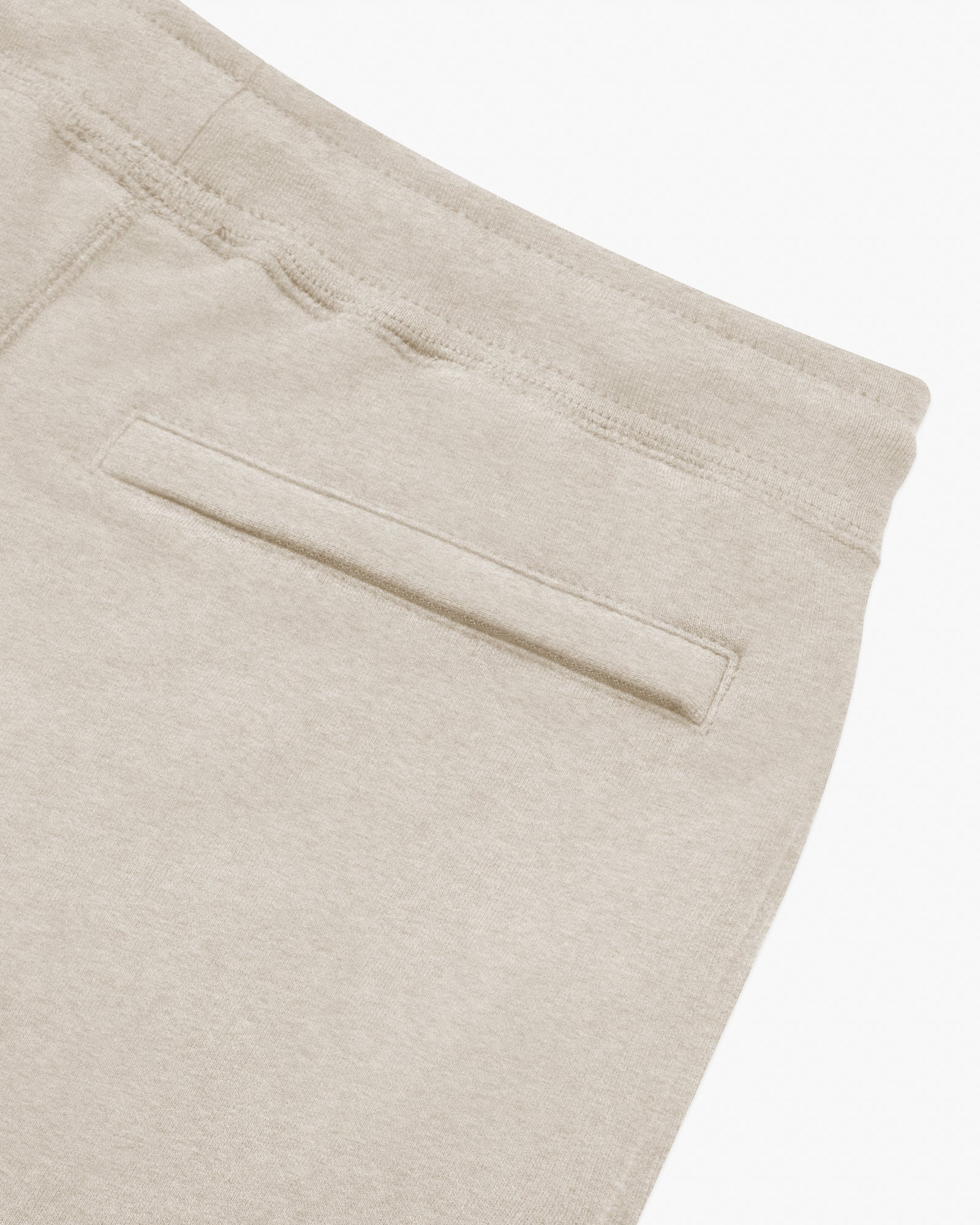 OVO OATMEAL FRENCH TERRY SWEATPANT - HEATHER OATMEAL IMAGE #5