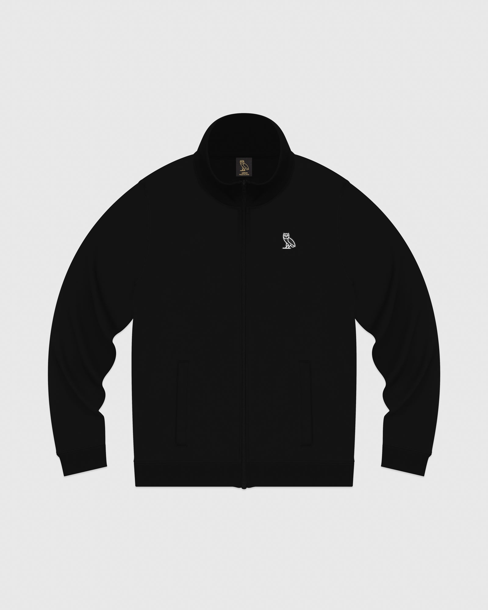 FAMILIA POLY FLEECE JACKET - BLACK