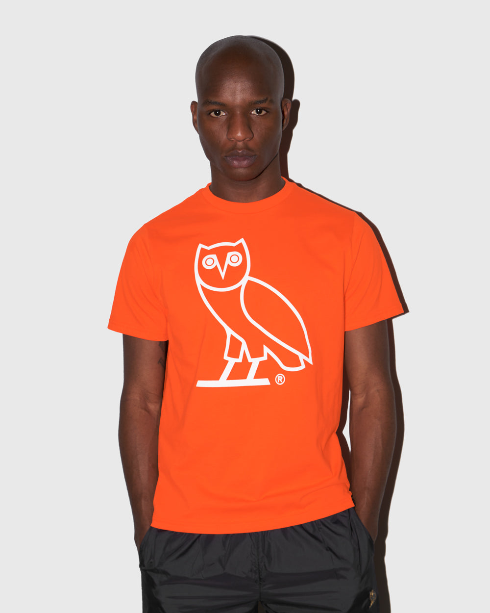OVO OWL T-SHIRT - ORANGE