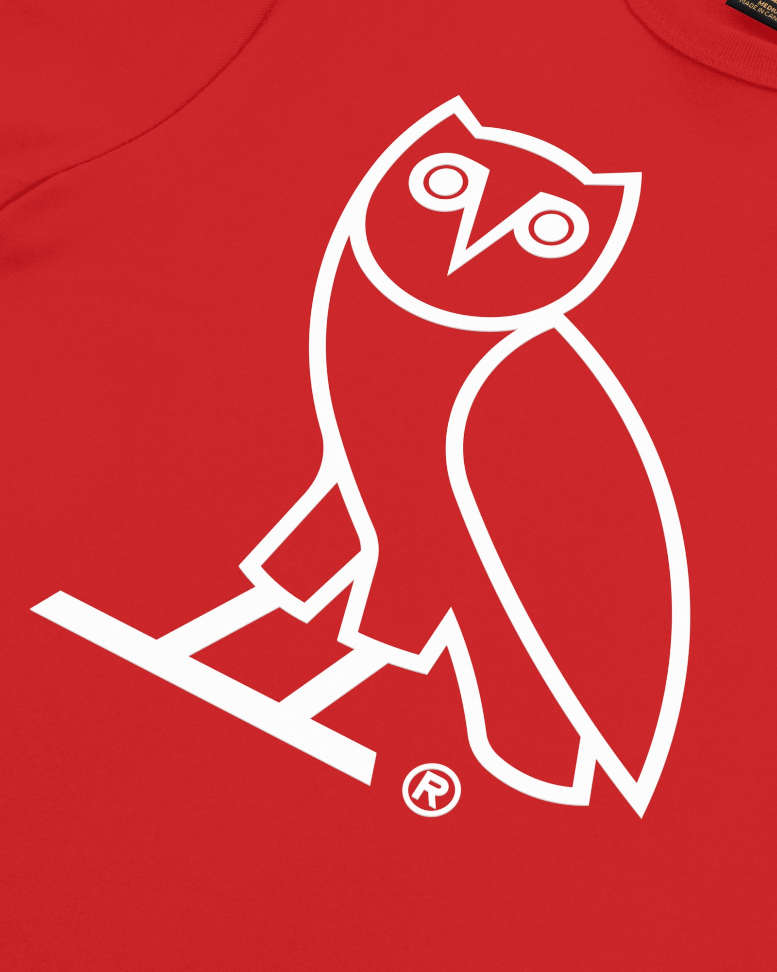 OVO OWL T-SHIRT - RED IMAGE #3