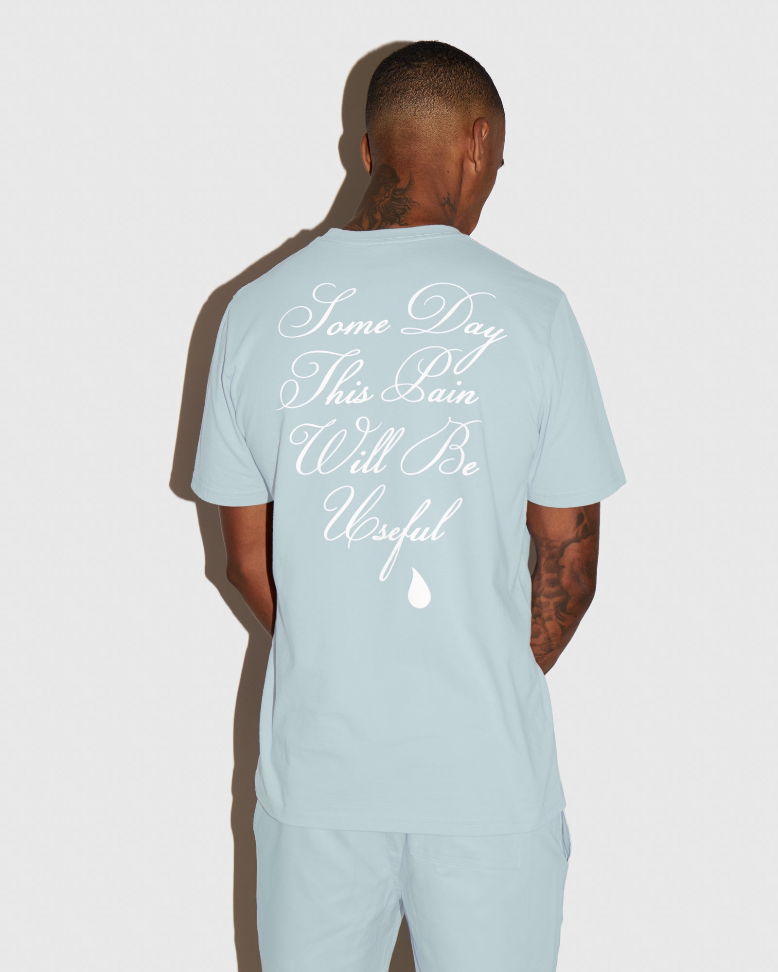 OVO SOME DAY T-SHIRT - BABY BLUE IMAGE #3