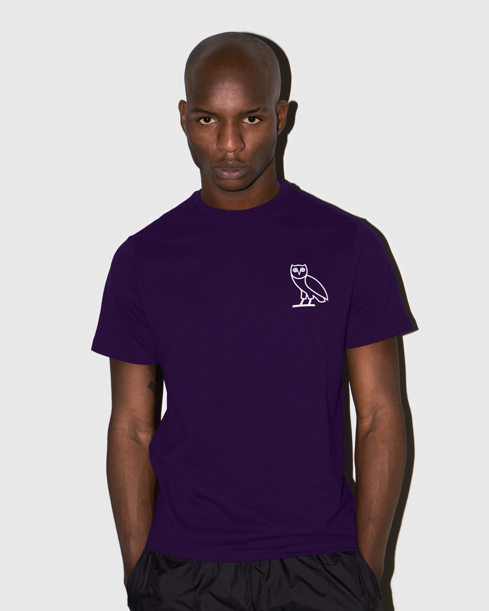 OVO OWL T-SHIRT - PURPLE IMAGE #2